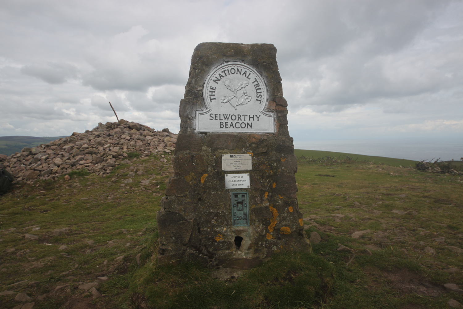 selworthy beacon trig point