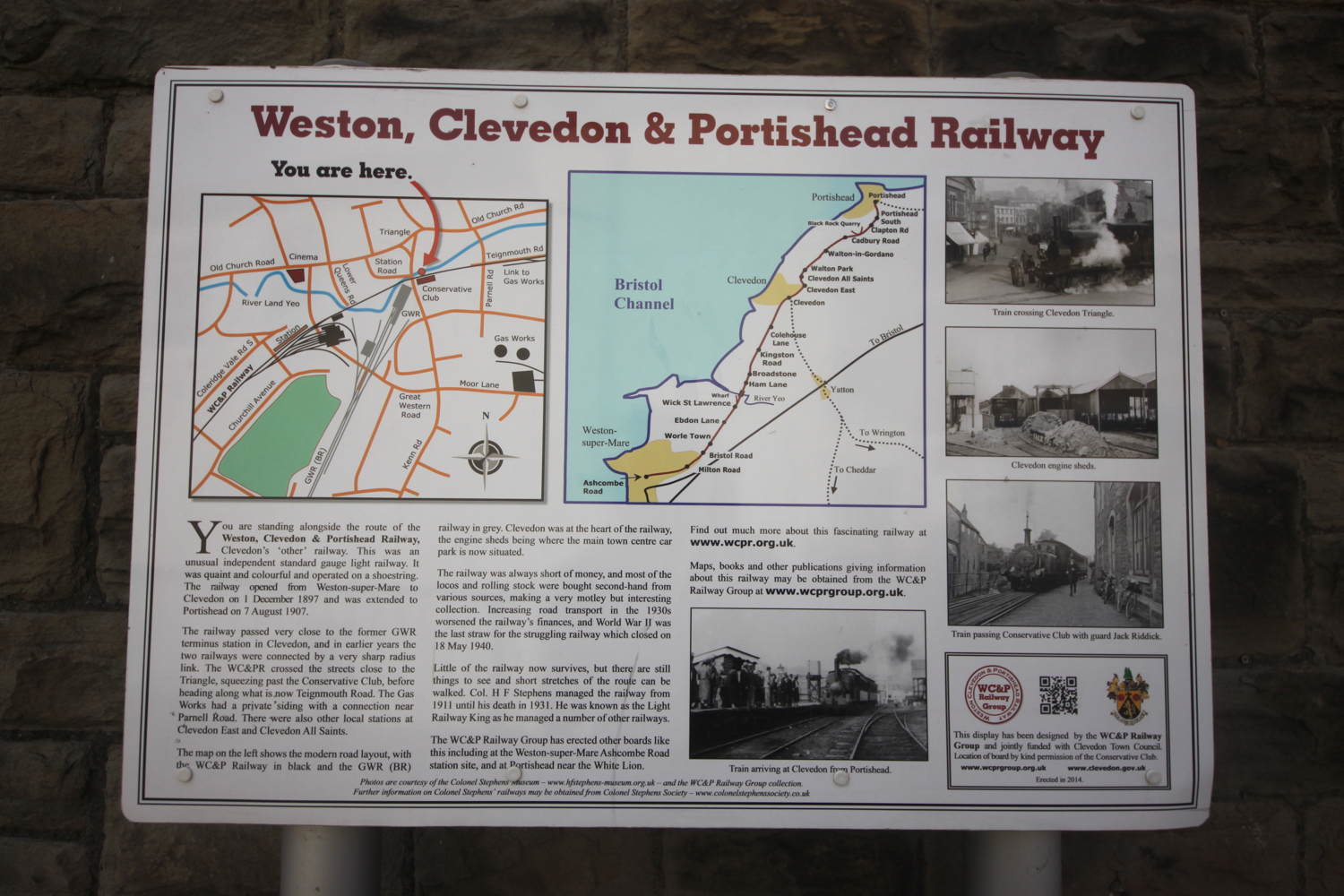weston, clevedon and portishead railway