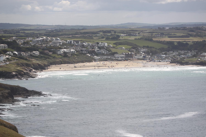 view over polzeath