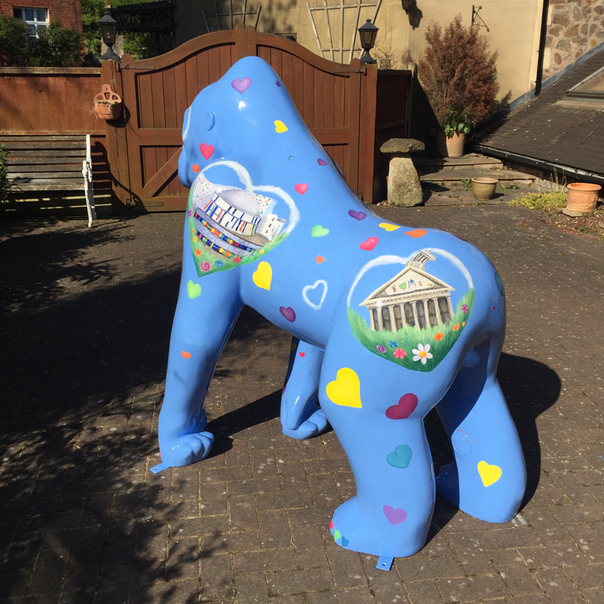 Lovely The Gorilla - The Big Stampede - Lanarkshire 2017.jpg