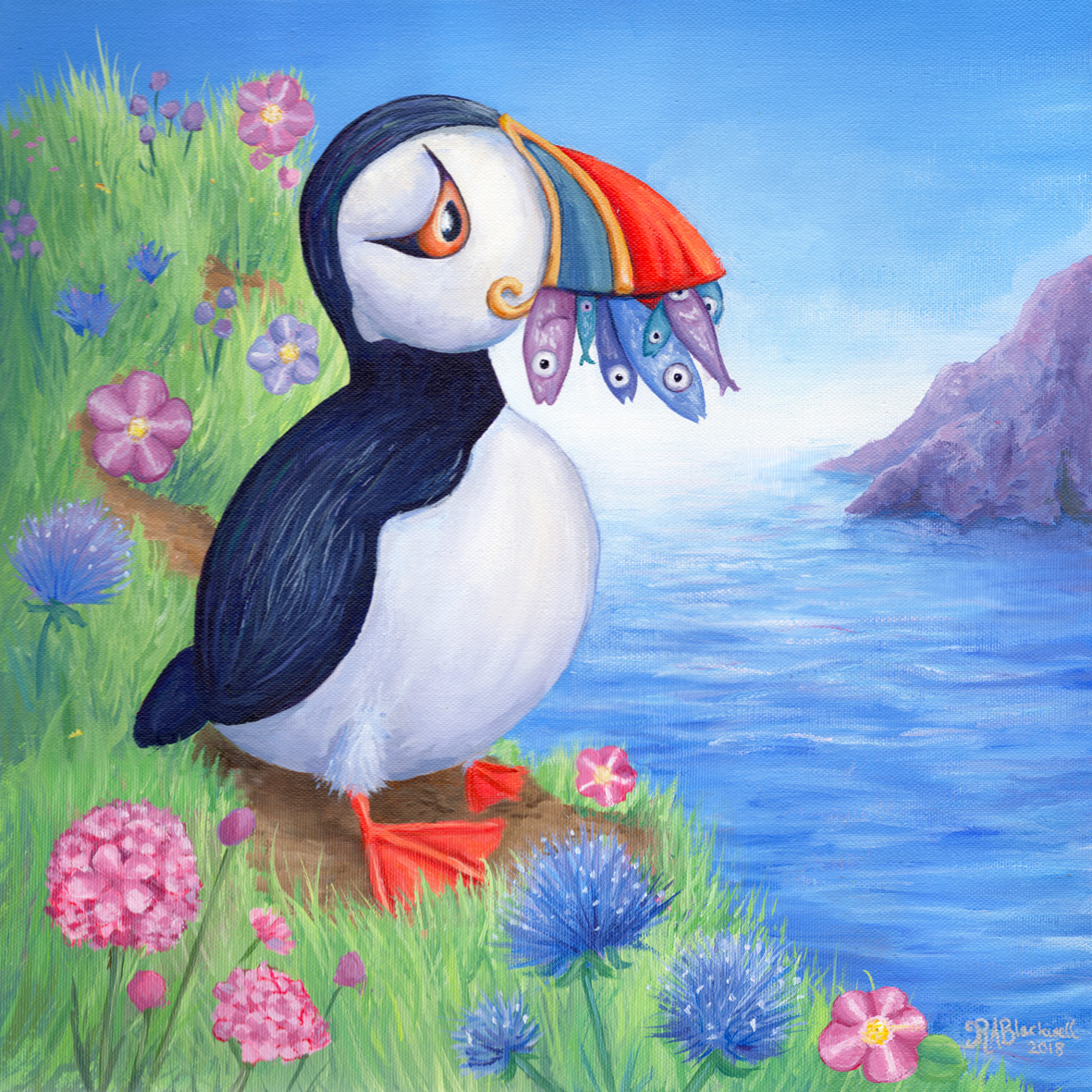 A Puffin's Picnic