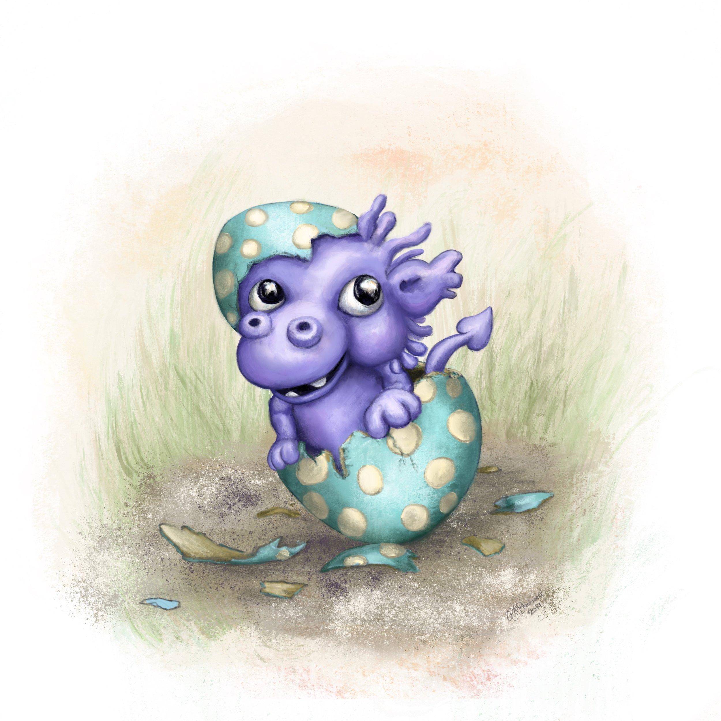 Little Dragon Children's Book