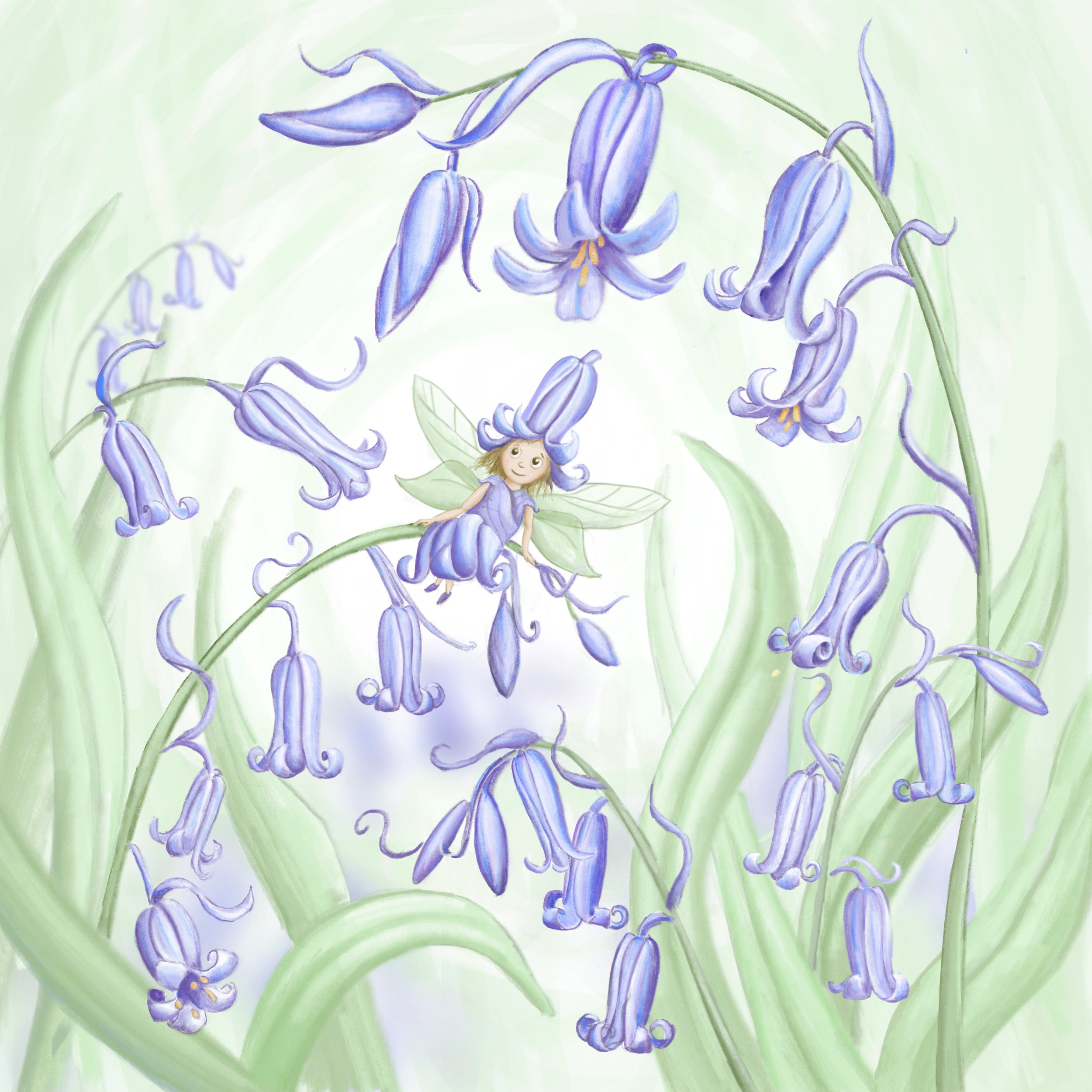 The Fairy of the Bluebells -