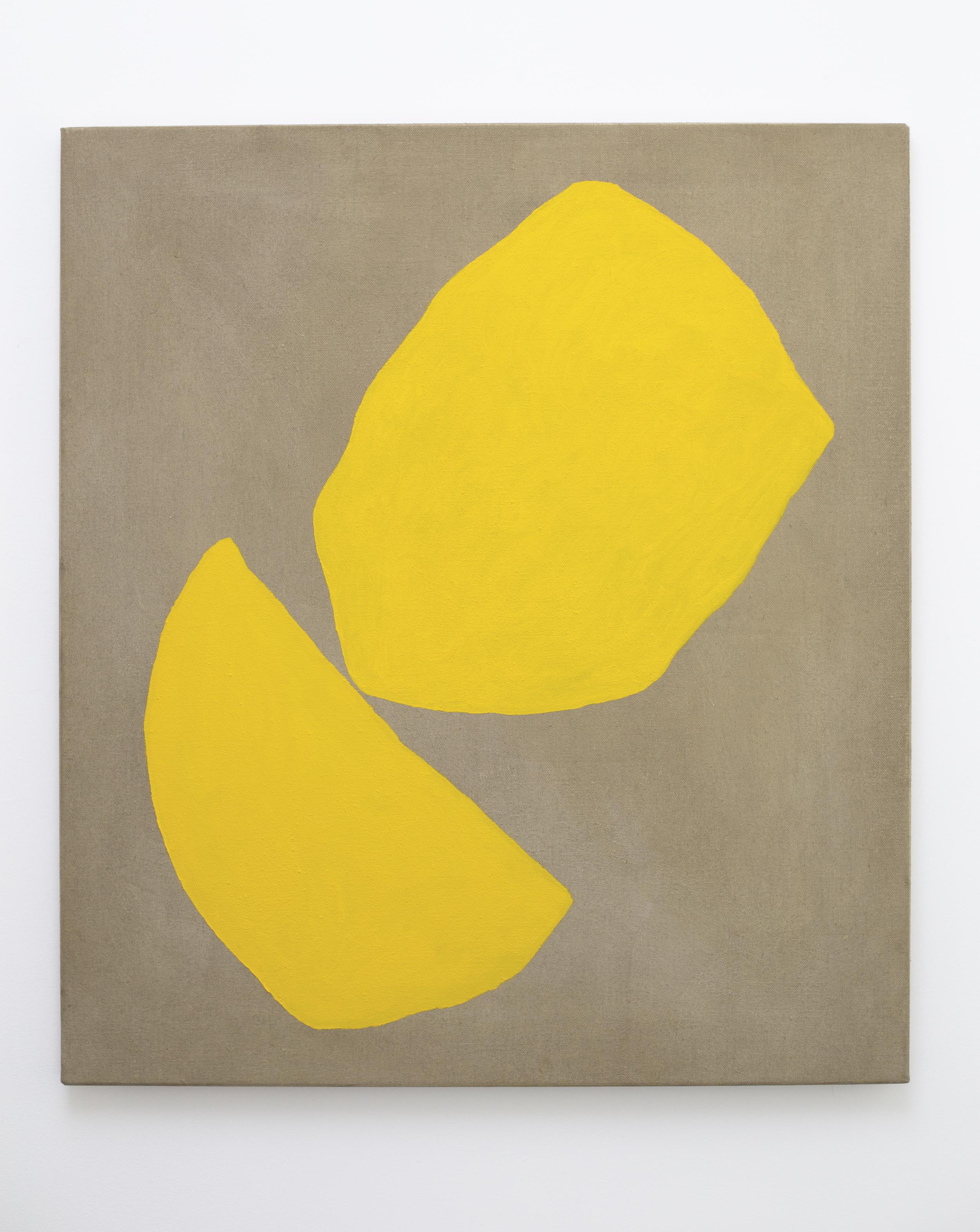 Eleanor Louise Butt, Untitled, 2016. Oil on Belgian linen 87cm x 76cm