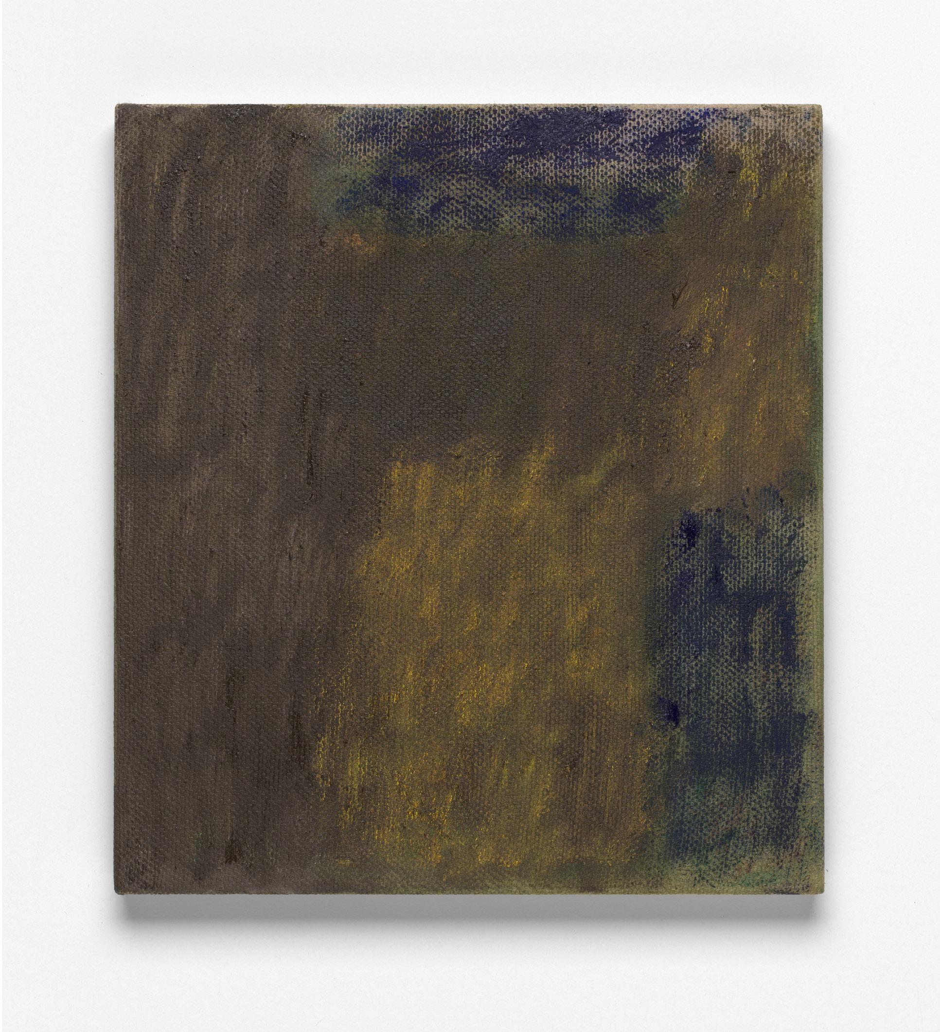 After L'Été 6, Oil on Linen, 46 x 41cm, 2019. Photograph by Matthew Stanton.