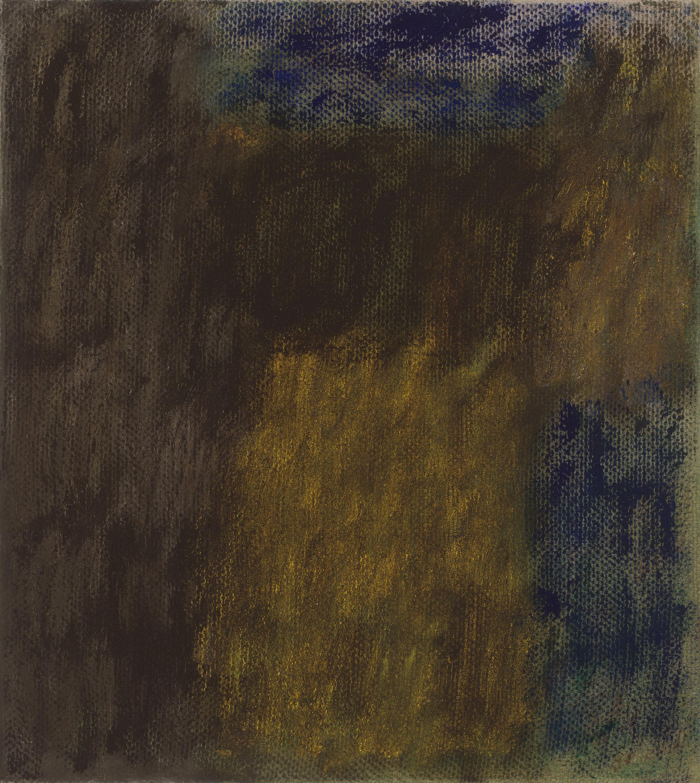 After L'Été 6. Oil on Linen, 46 x 41cm, 2019.