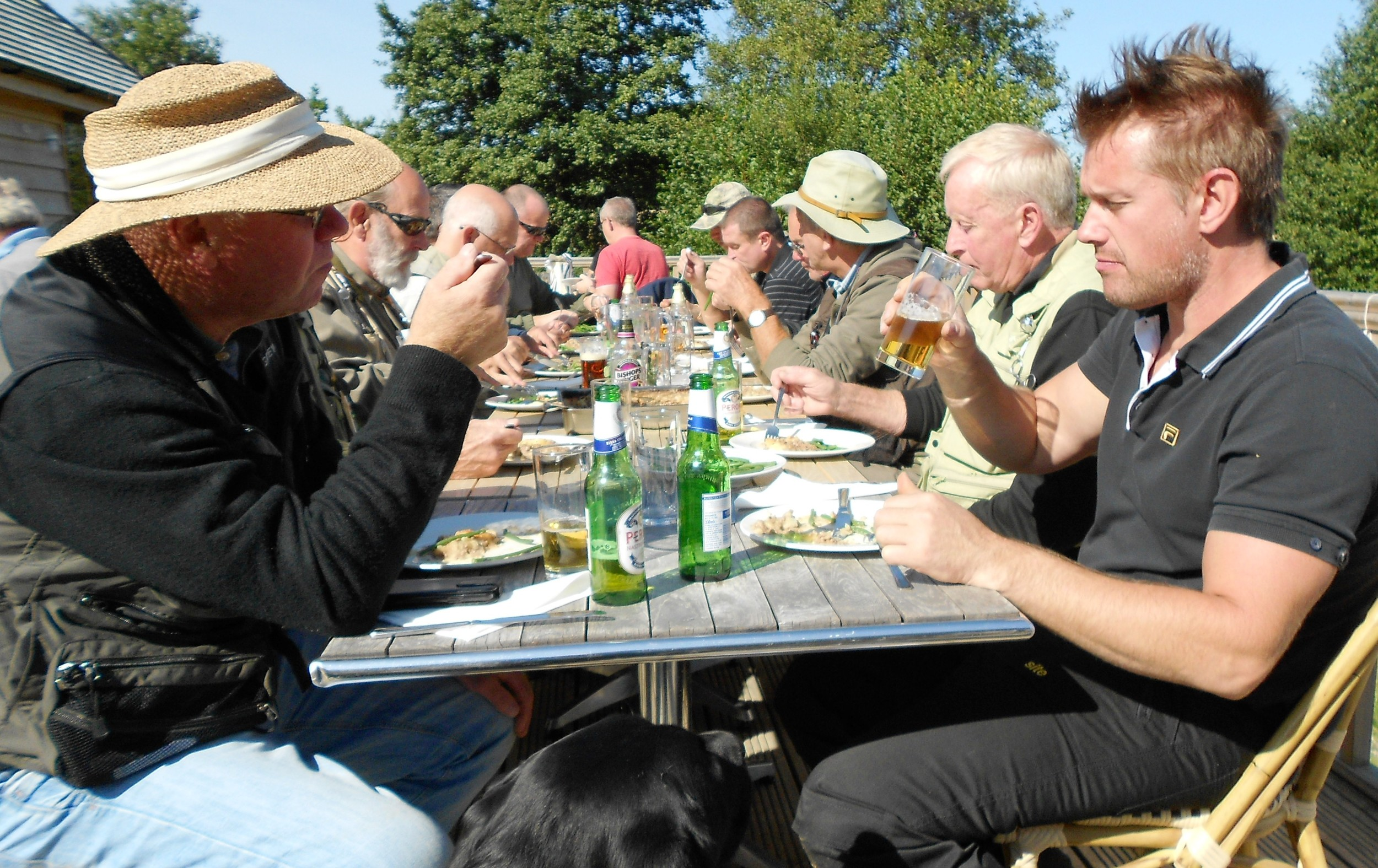 St Michael's Hospice charity day lunch
