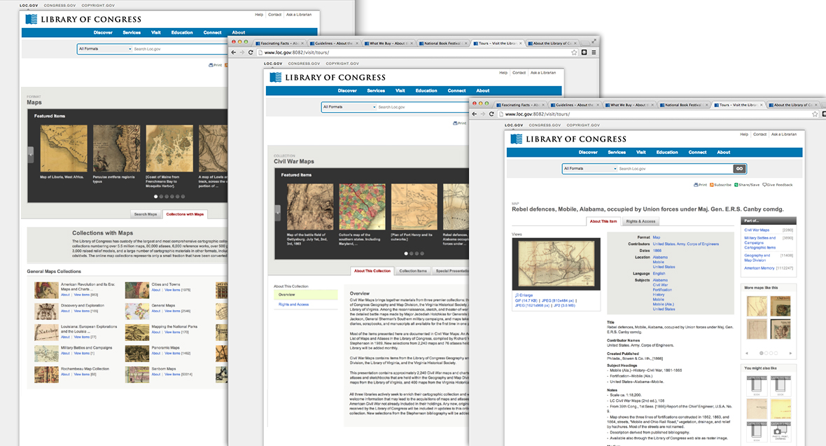 This template system provides users a context for all digitized items as a stand-alone object, as a part of multiple other collections, and belonging to a set of similar formats as well.