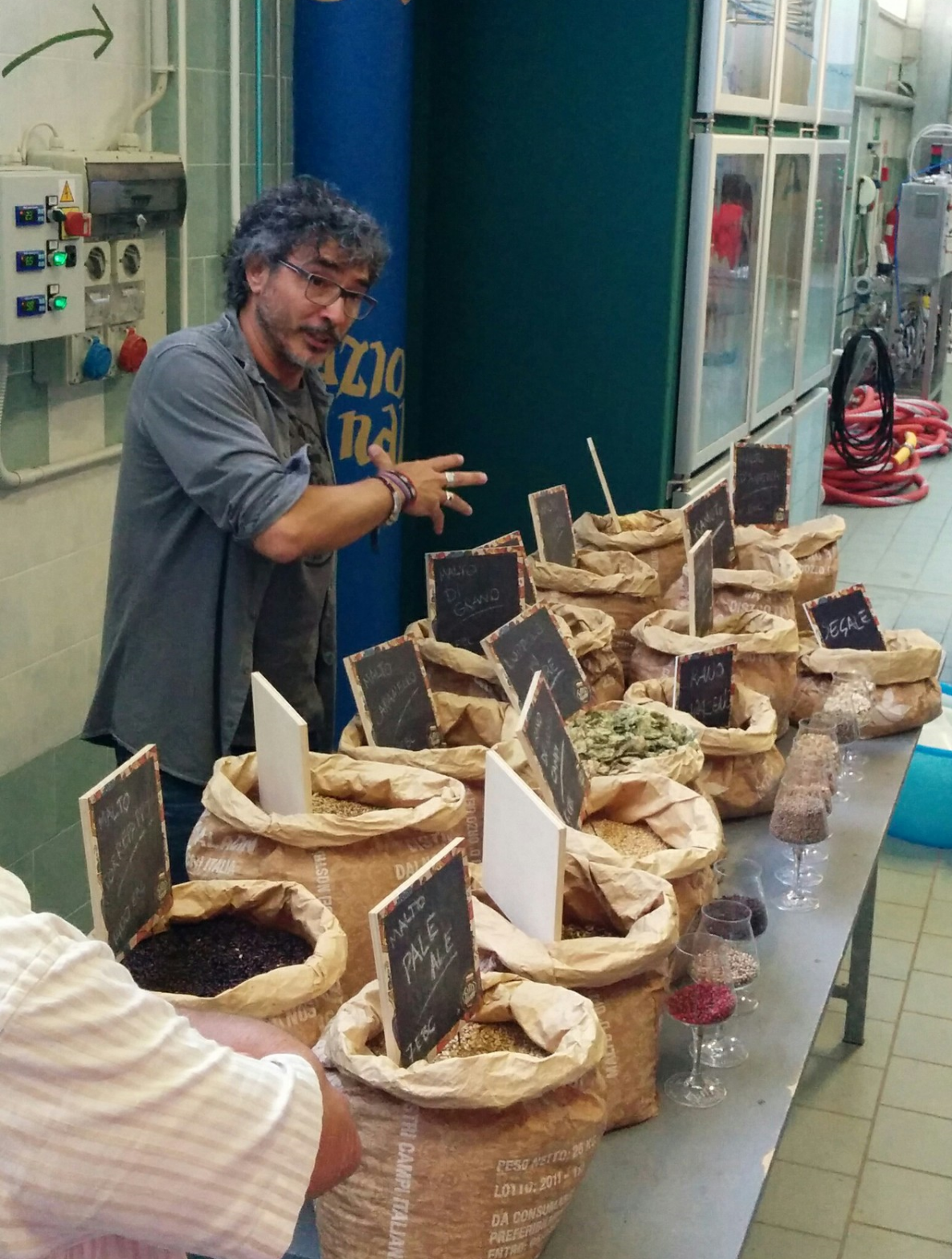 Piozzo (CN): the awesome Teo Musso of Baladin teaches us about good beer