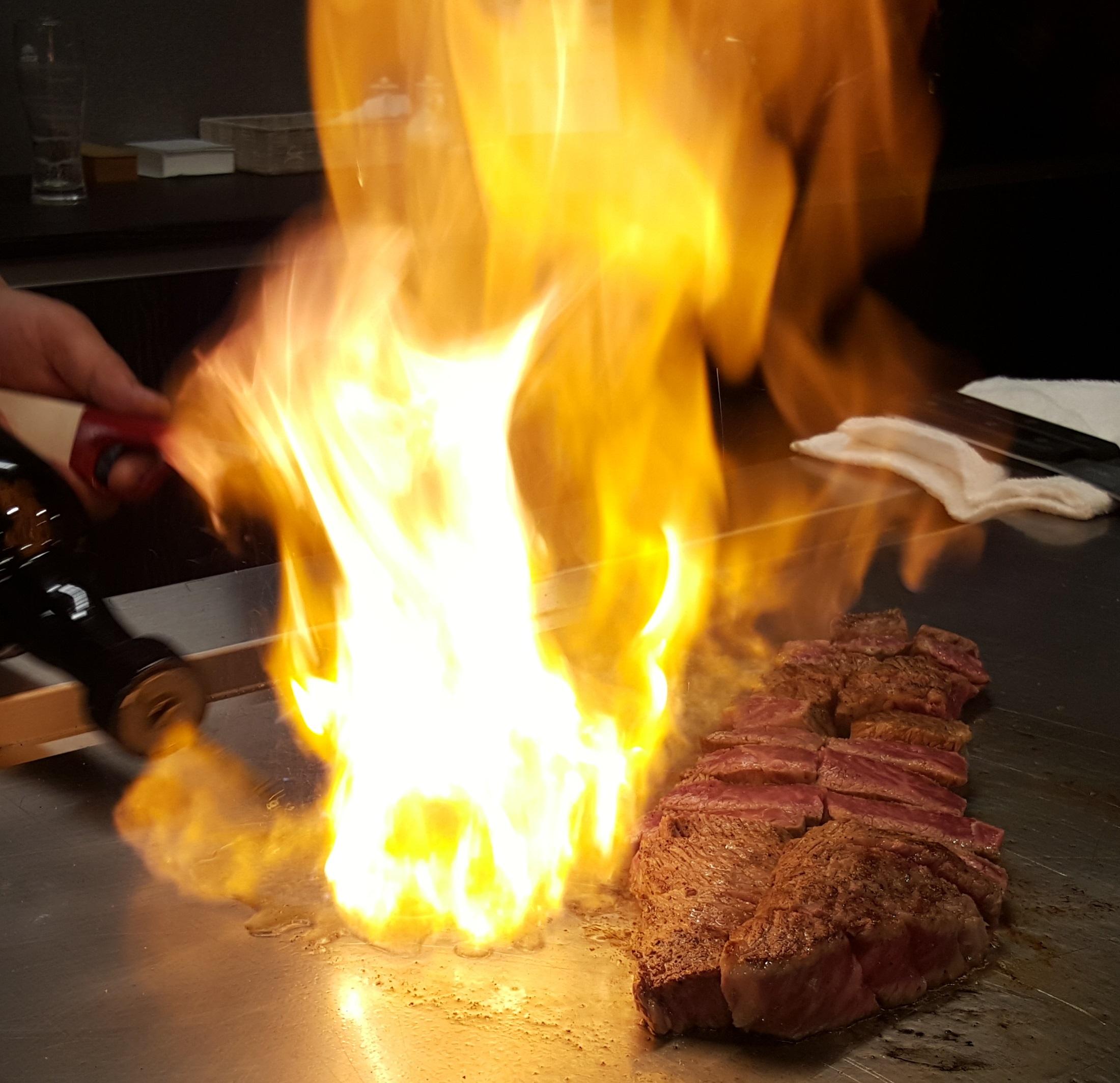 wagyu beef (steak house)