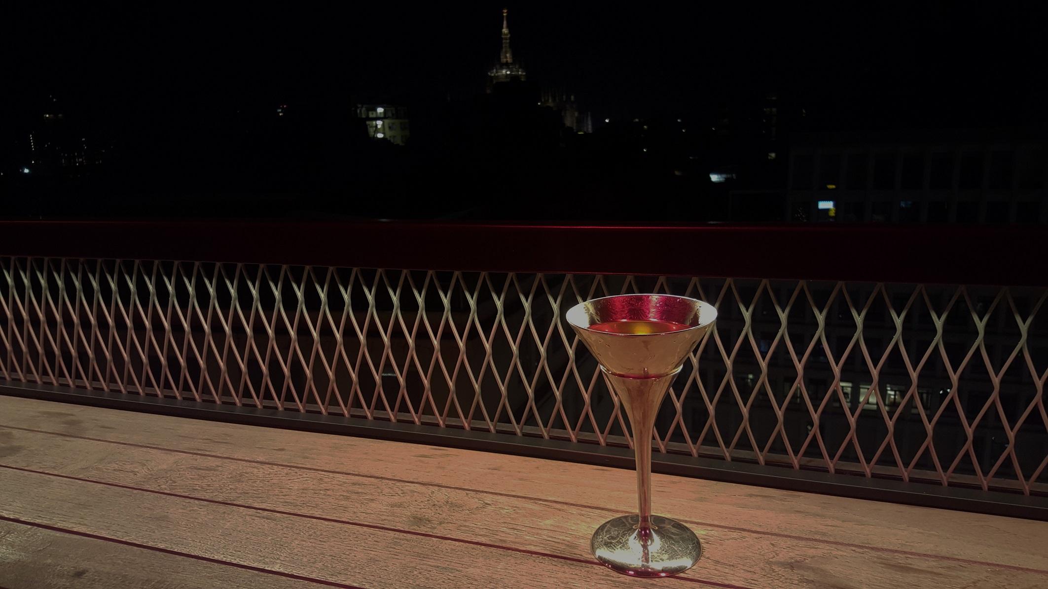 Martini cocktail con la Madonnina