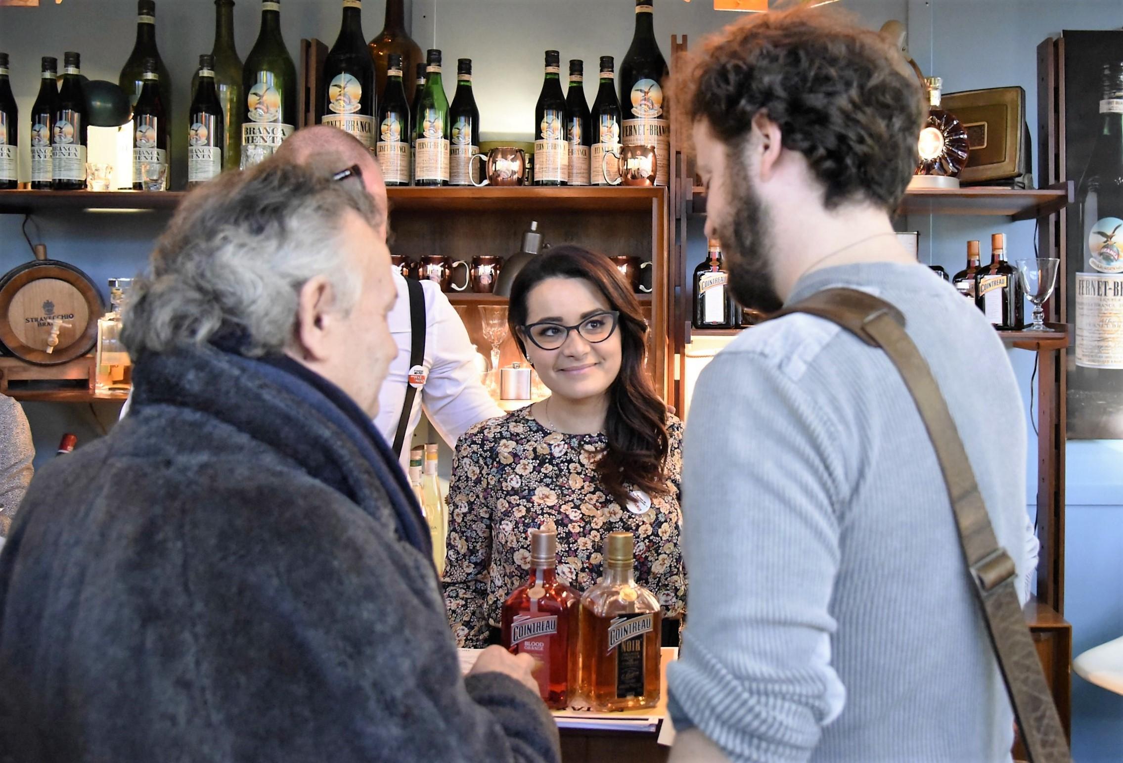 Angelo, Patrizia and Shane