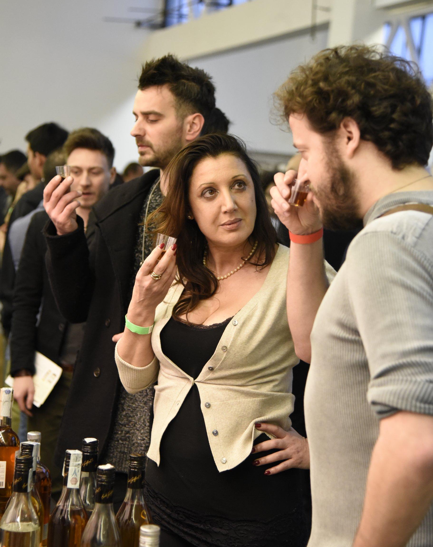 Maria Anna teaches Shane how to appreciate a fine liqueur