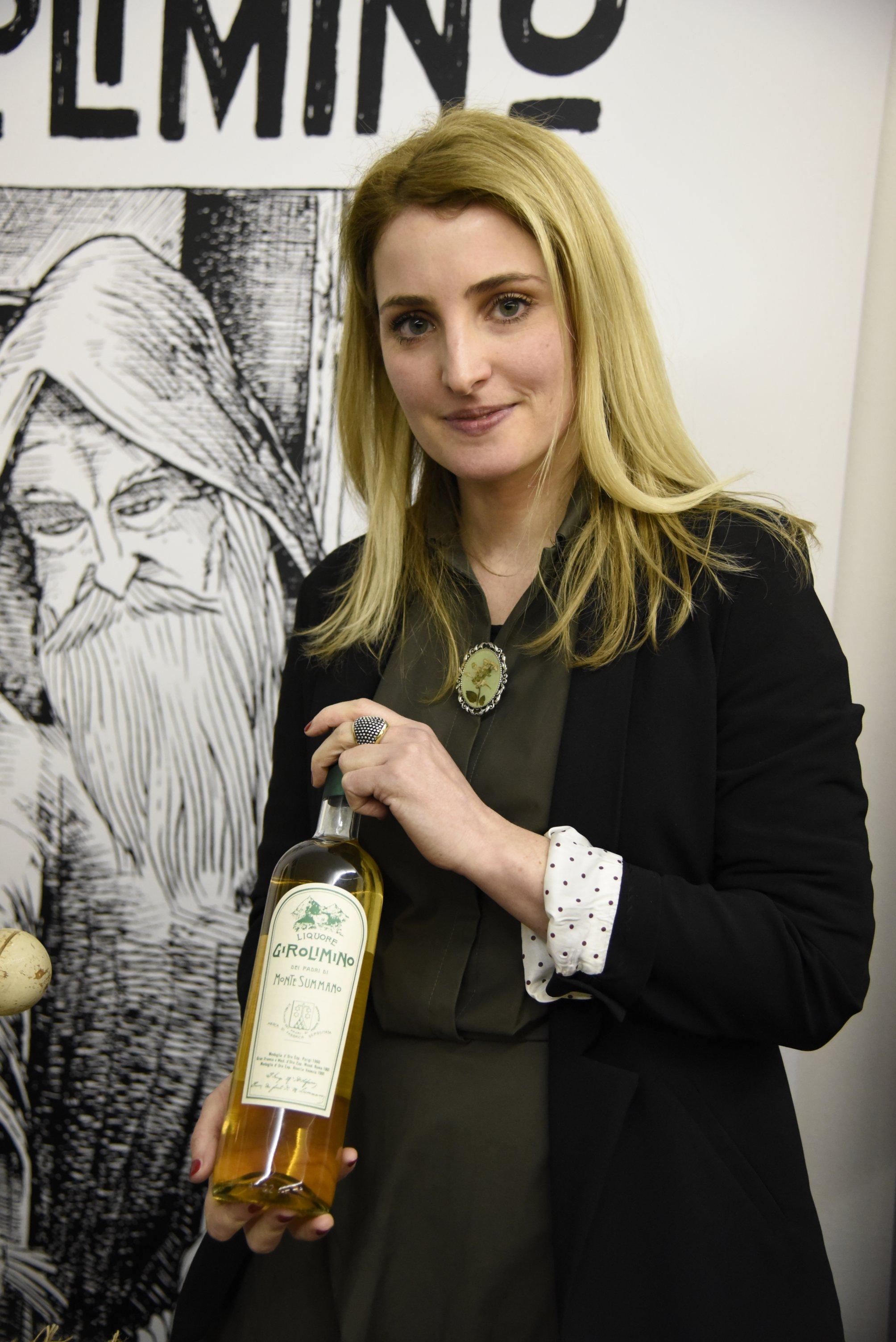 Ilaria with Girolimino liqueur