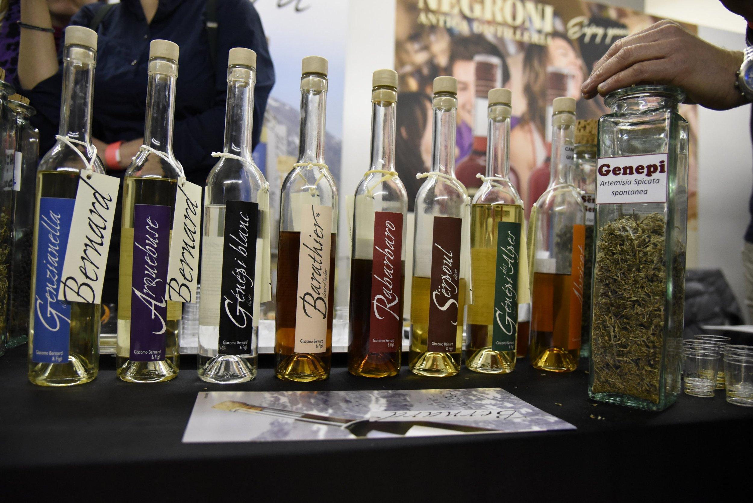 The delicious liqueurs of Bernard e figli