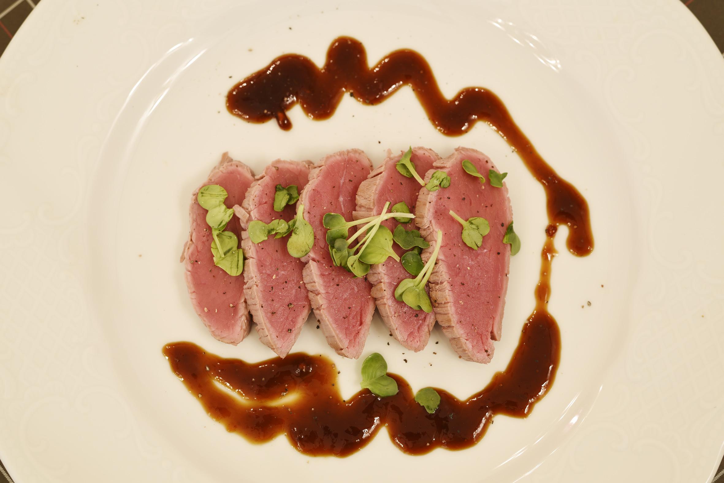 Tataki alla piemontese con salsa ponzu