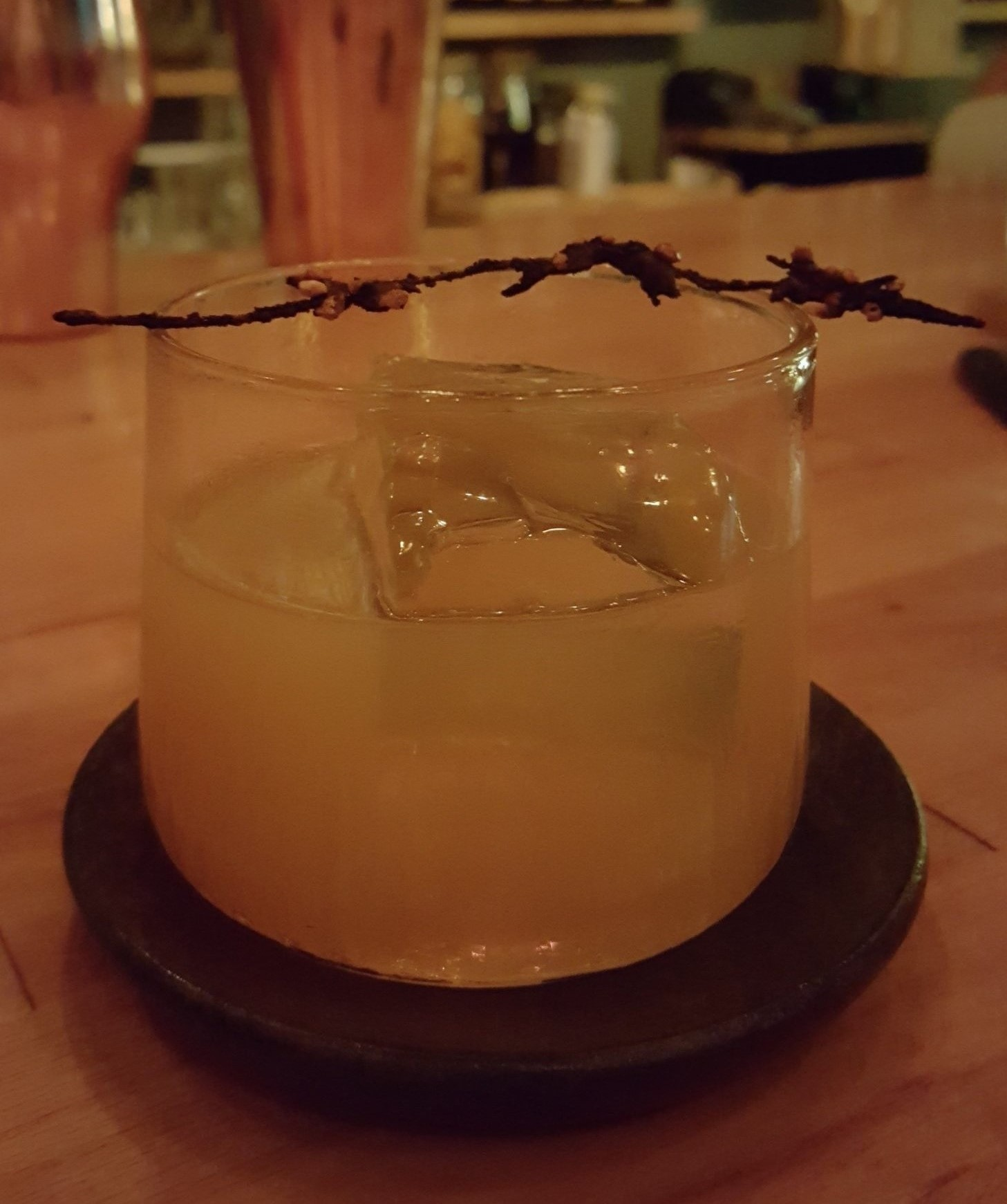 Bee pollen Old Fashioned