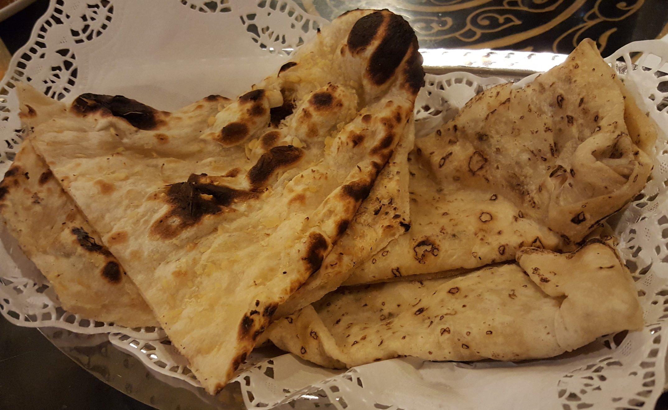 Great bread at Khansama