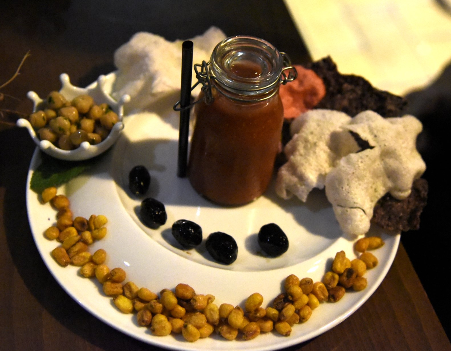 Saveurs de France Bloody Mary with vodka, mustard seed, tomato juice, salt and white pepper