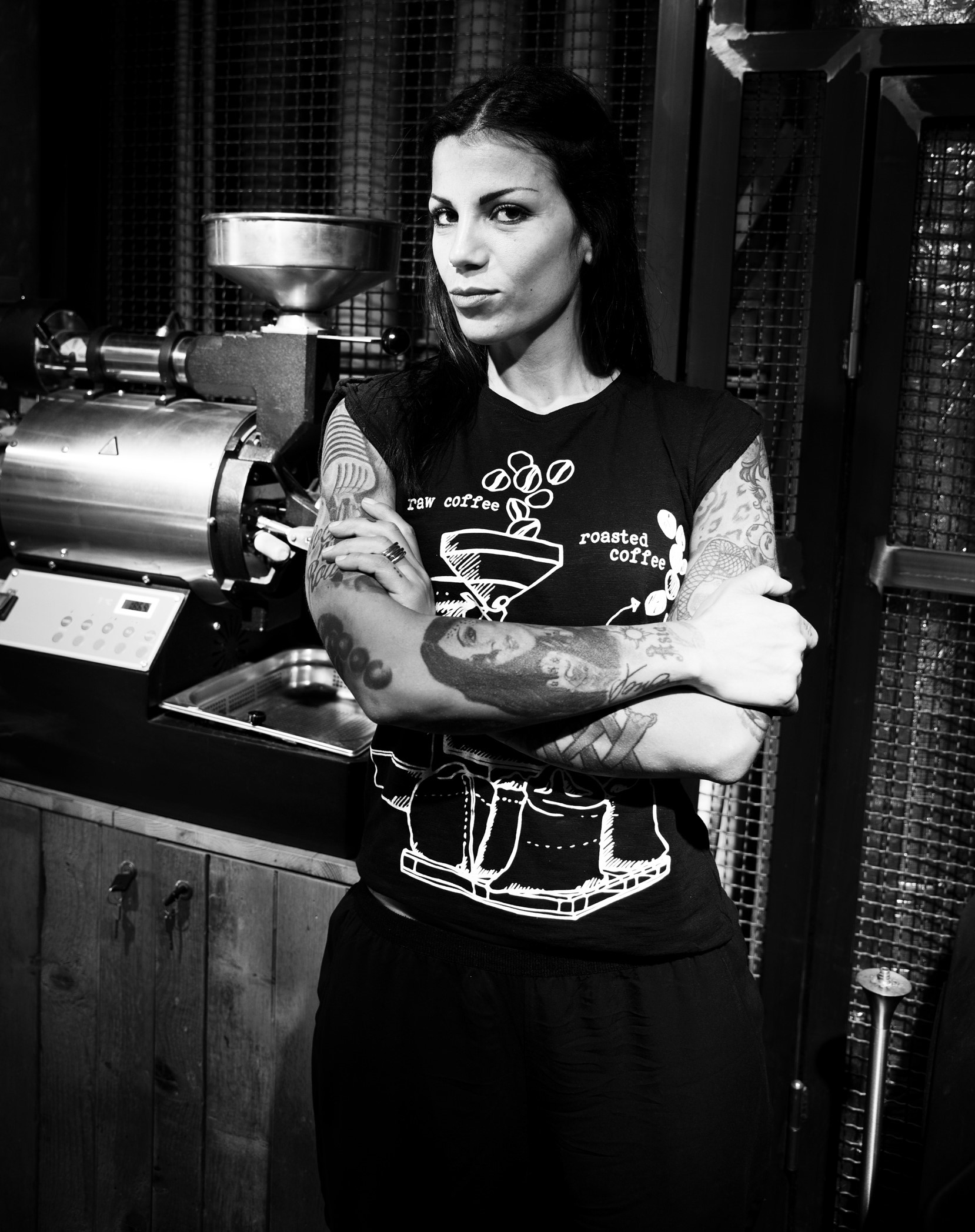 Tattoos and coffee