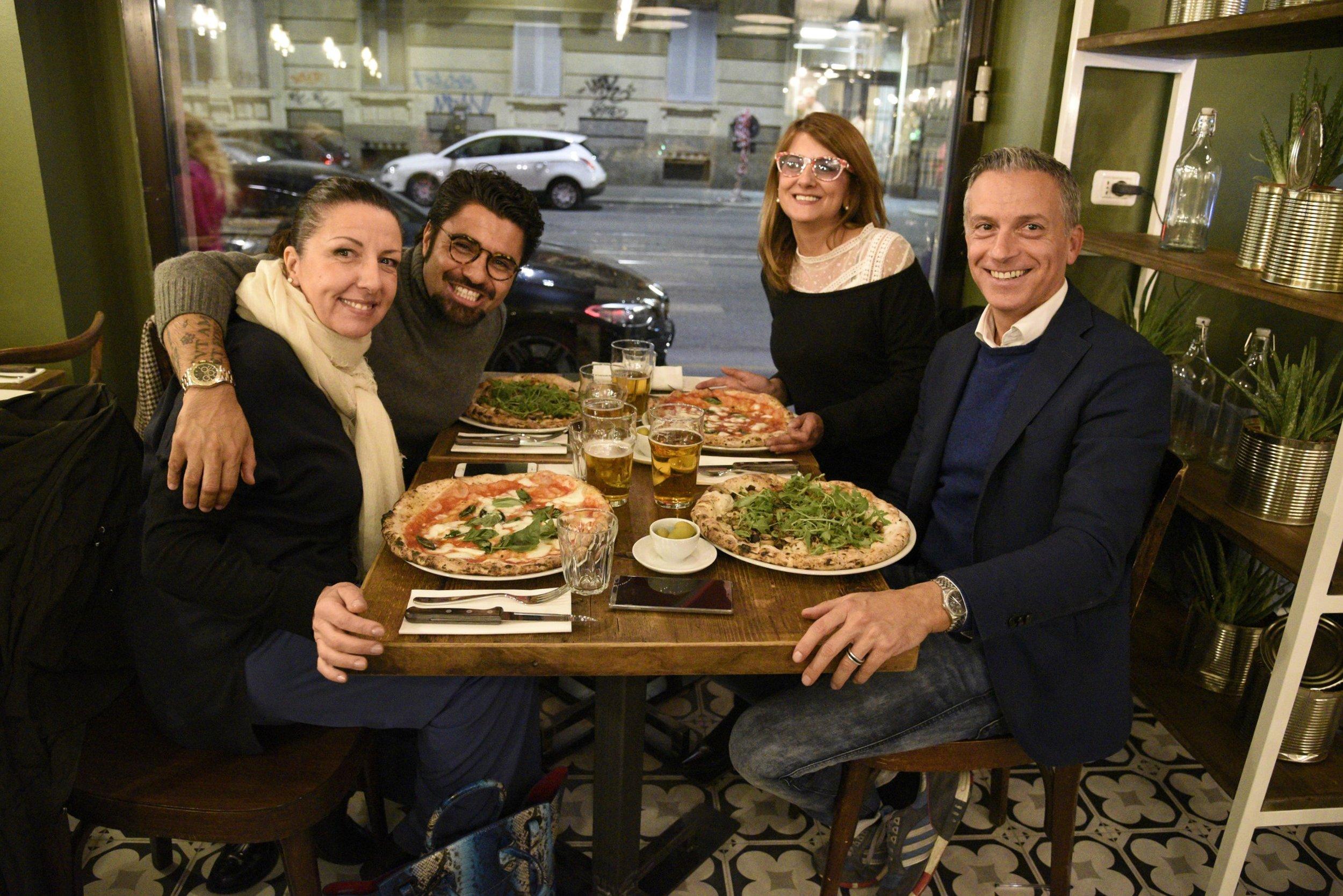 Fiorella, Andrea, Antonella e Paolo
