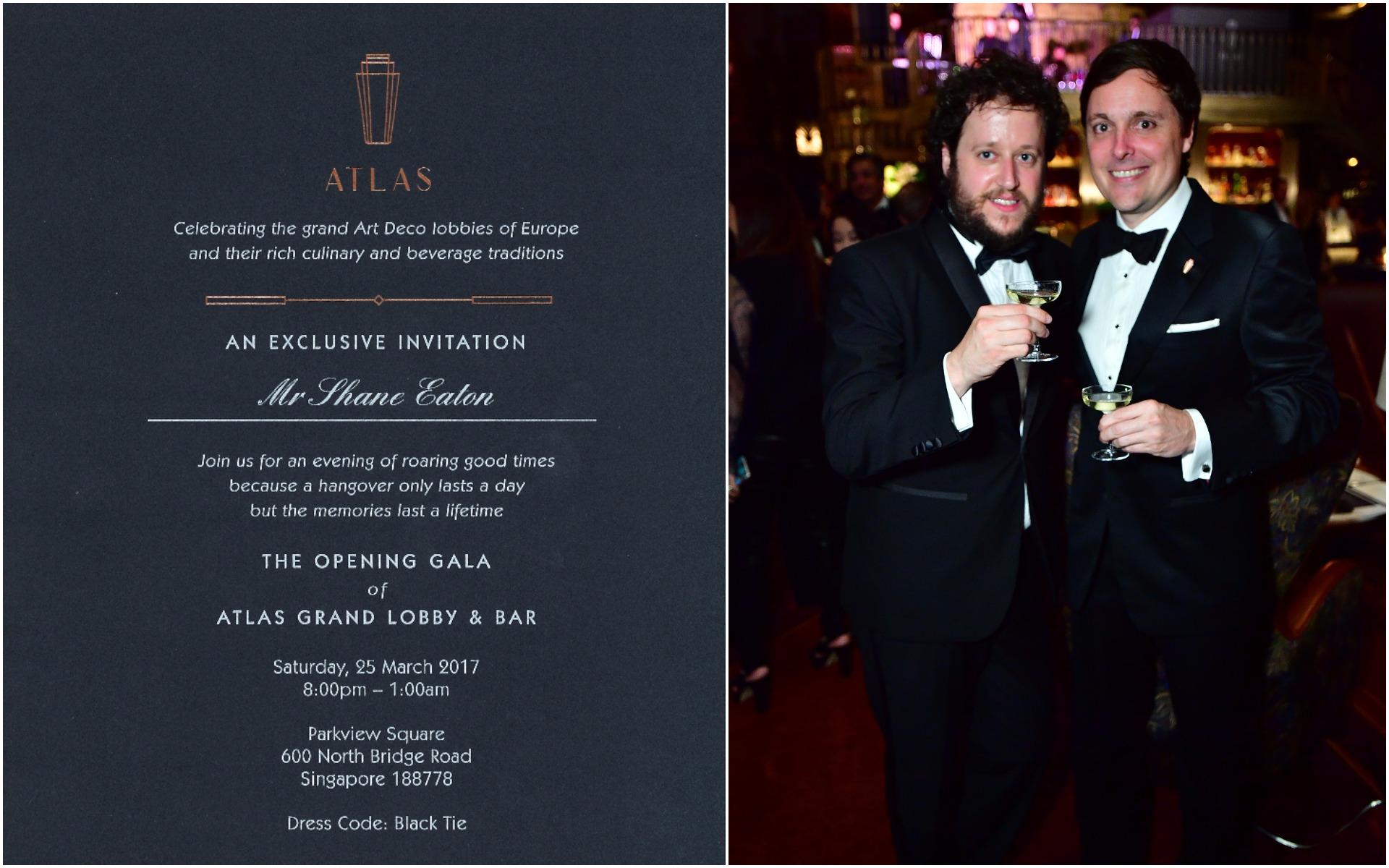 Invitation, Shane and Paul