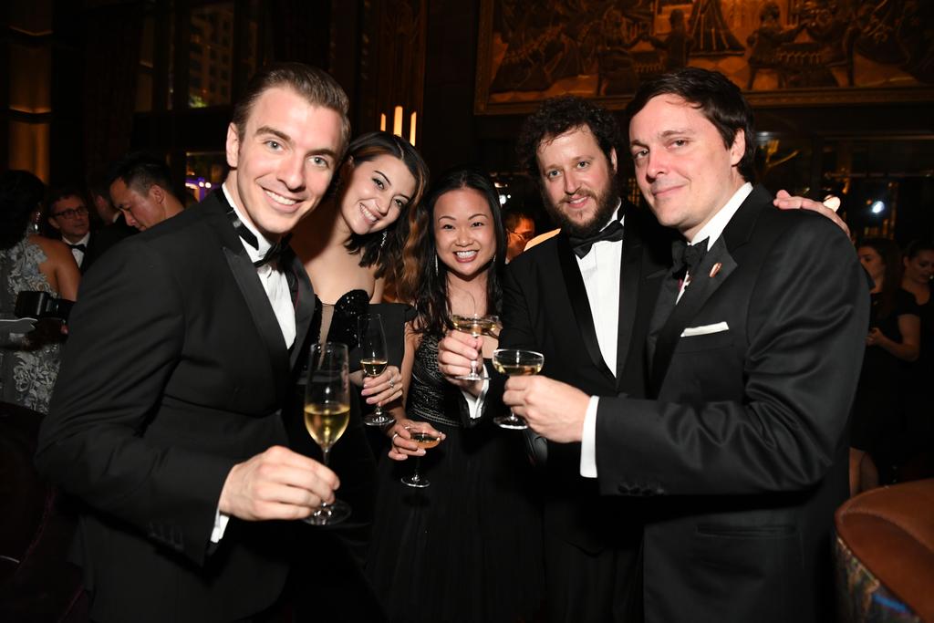 Chris, Micaela, Sabrina, Shane e Paul (foto ATLAS)