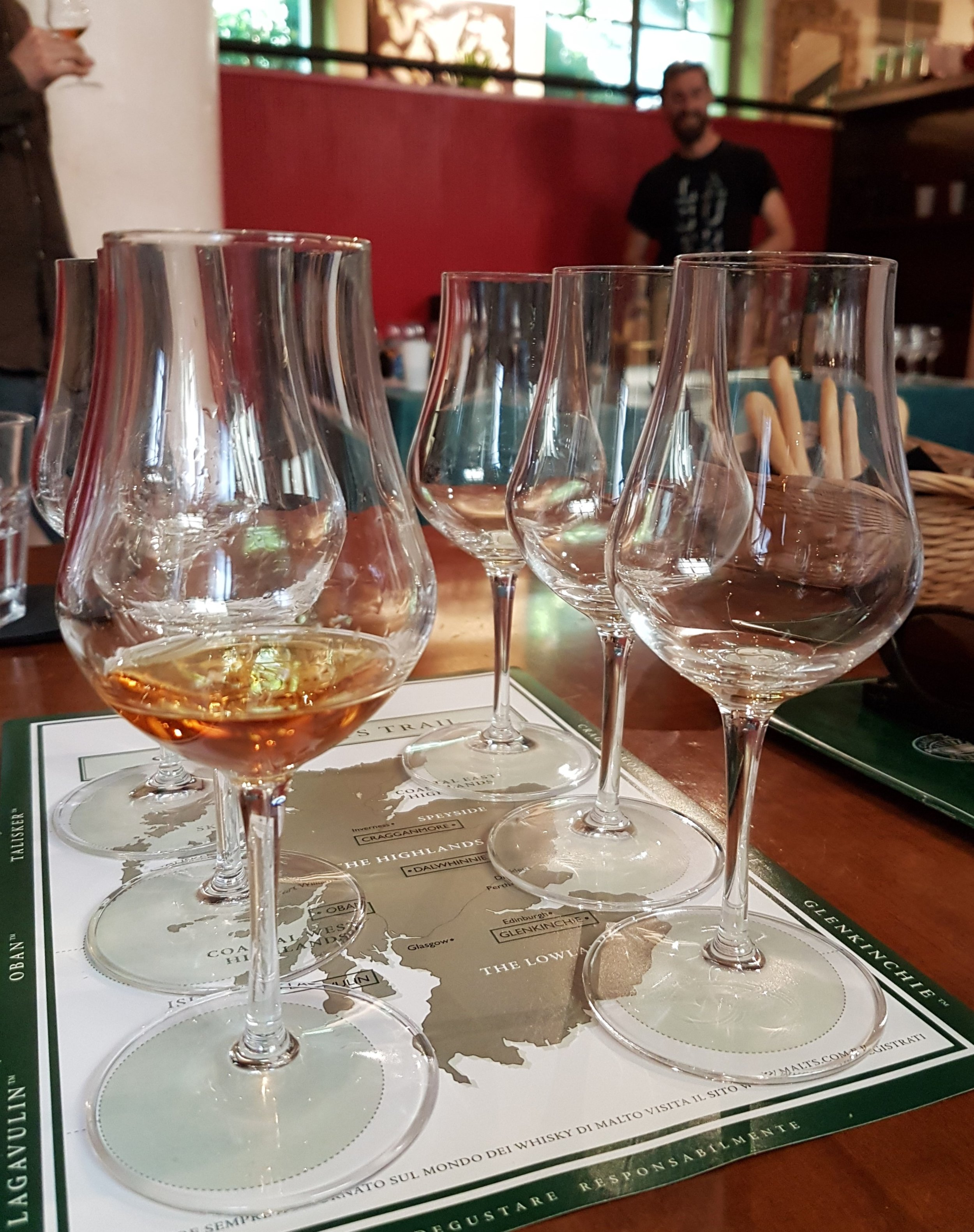 6 drams for 6 scotch whisky regions