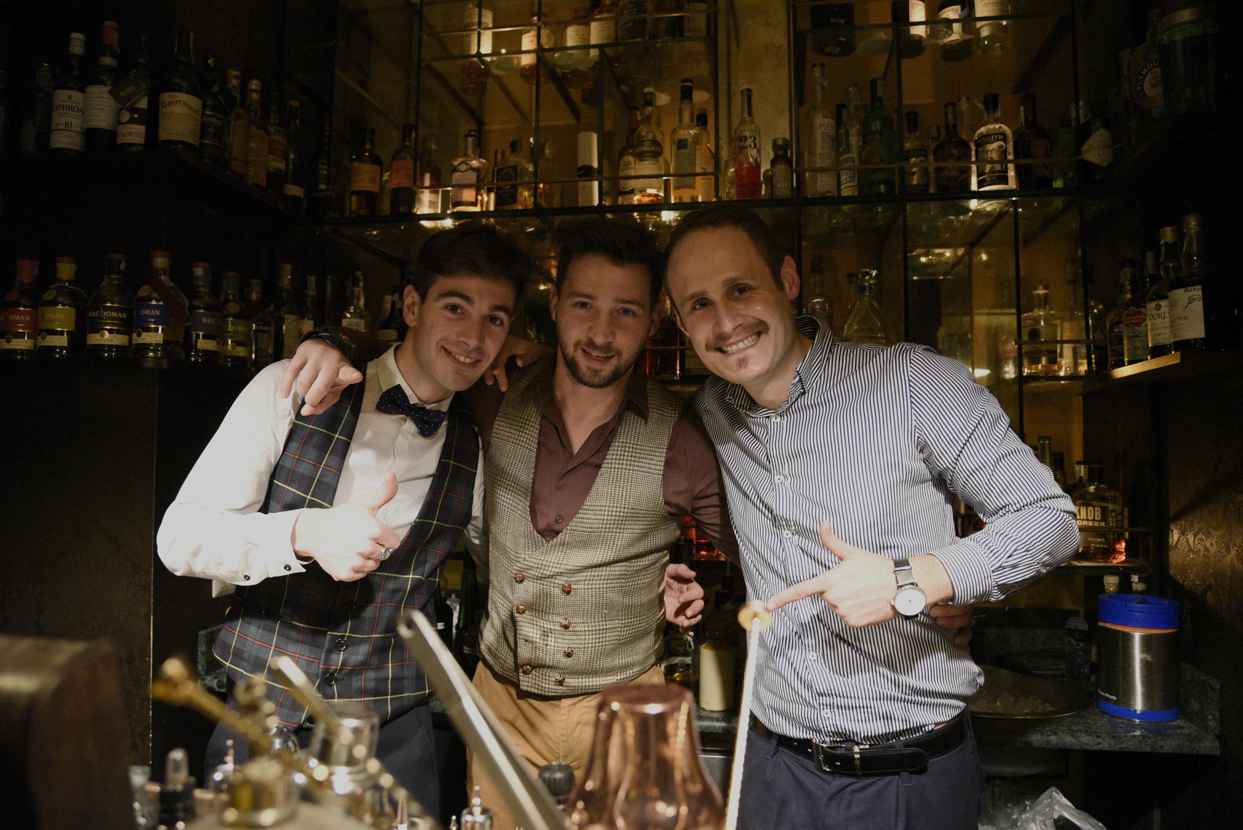 Andrea Pirola, Marco Russo, Devin Cross (foto Toney)