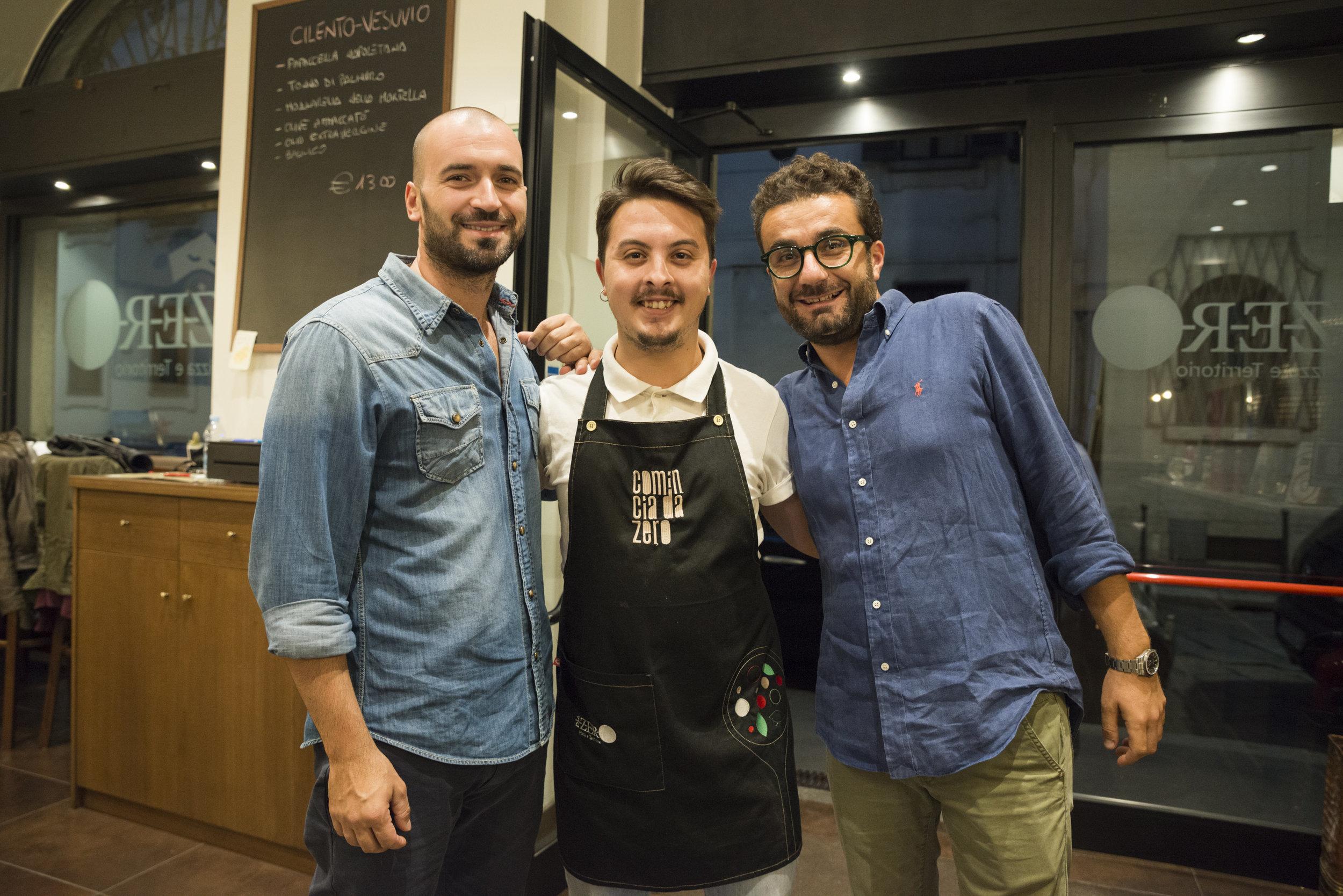 Francesco Cappuccio, Vincenzo Ricchiuti, Giuseppe Boccia (foto Foto Masiar Pasquali)