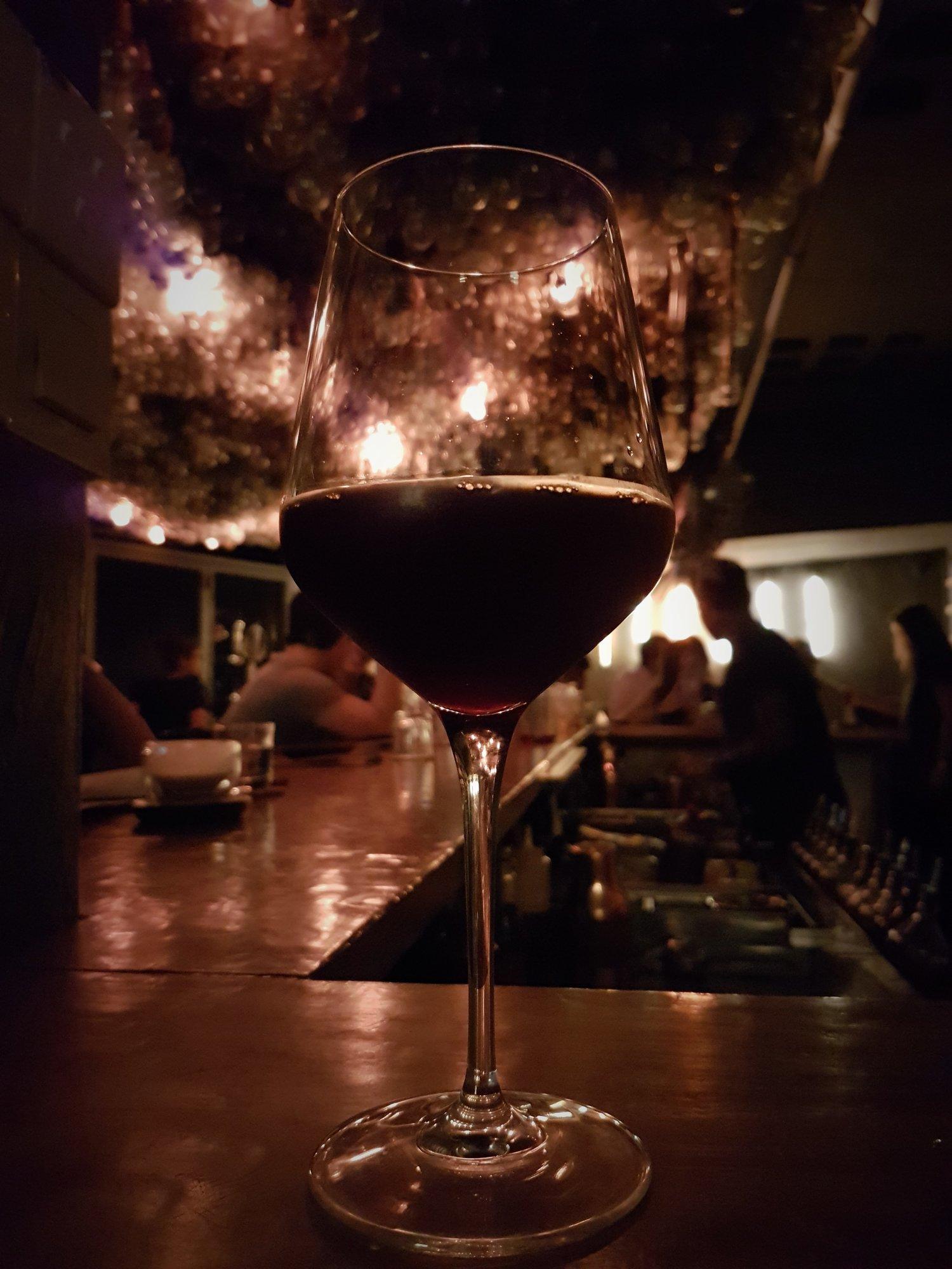 Cabbage wine at Dagger
