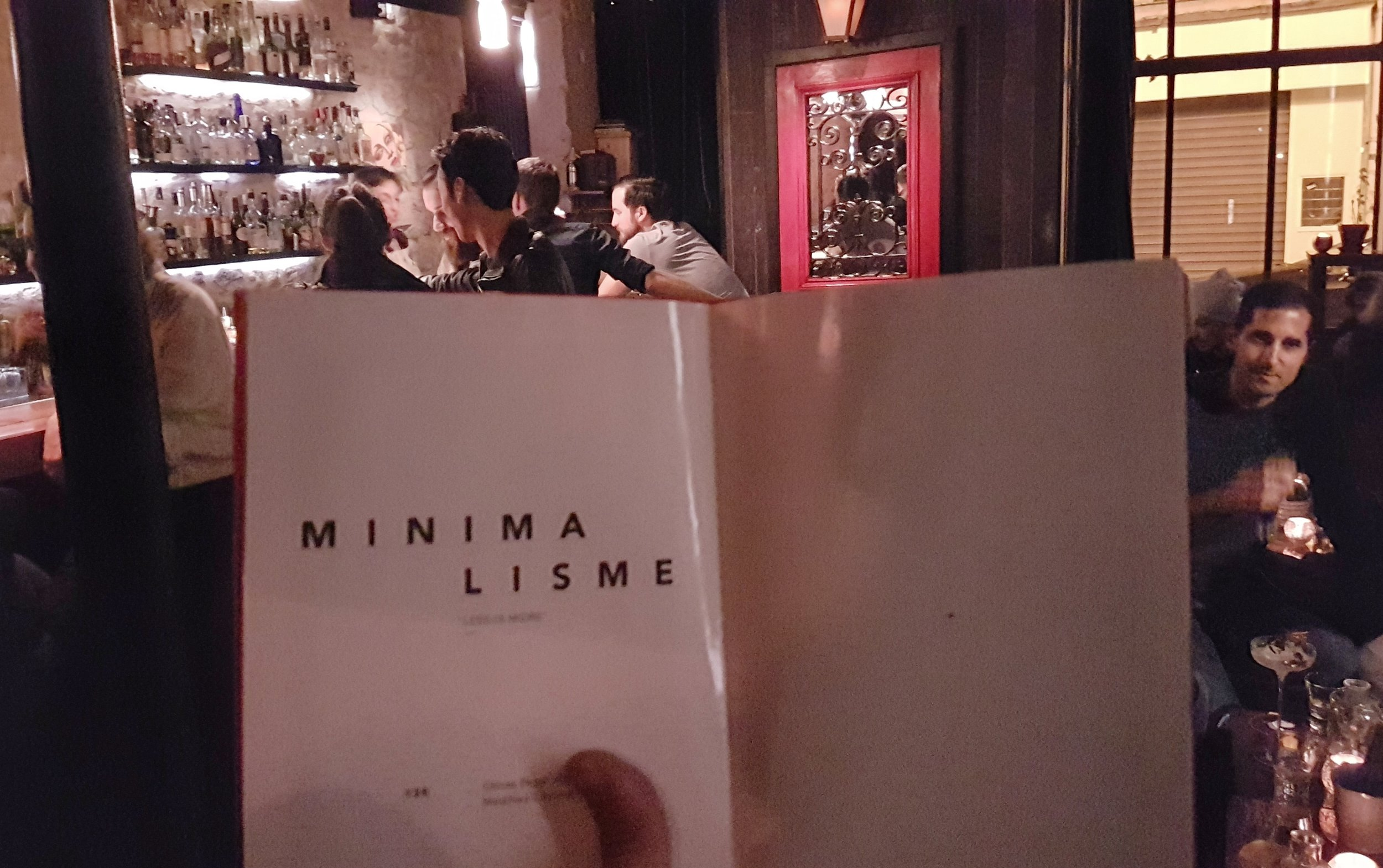 The brilliant architecture menu at the Little Red Door