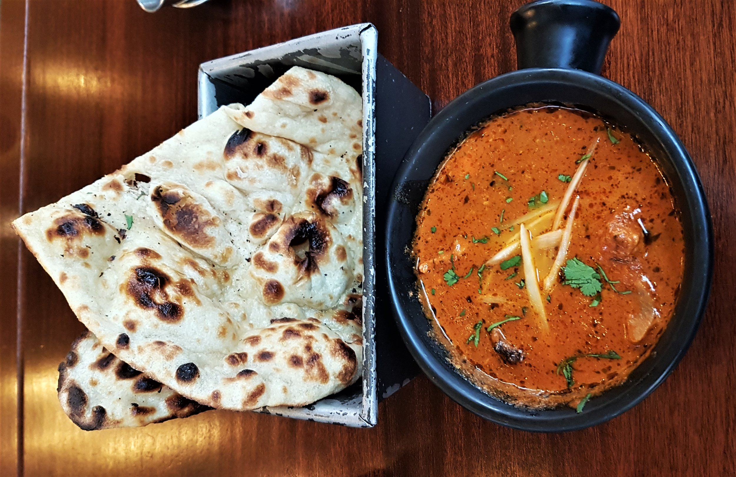 Naan and Chicken Ruby