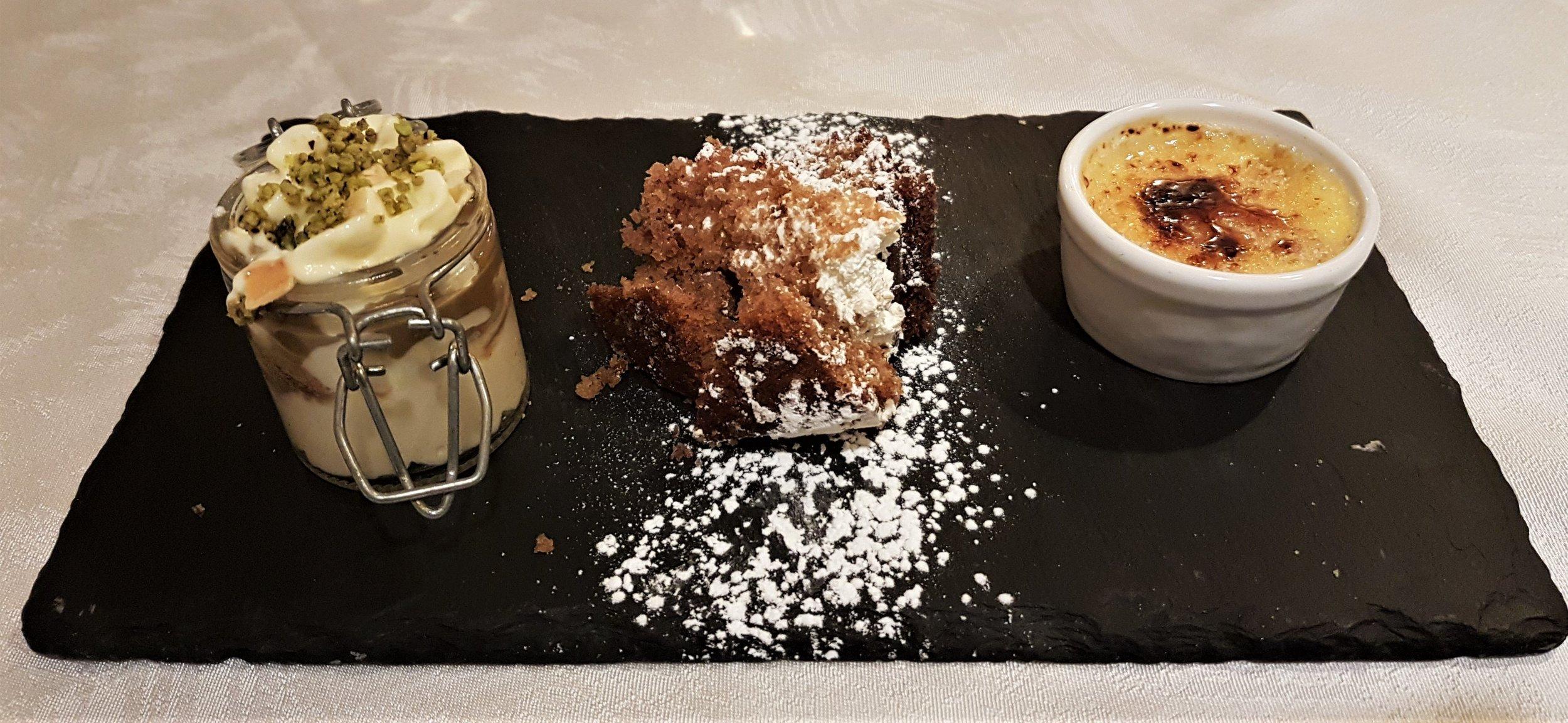 Buonissimi anche i dessert!