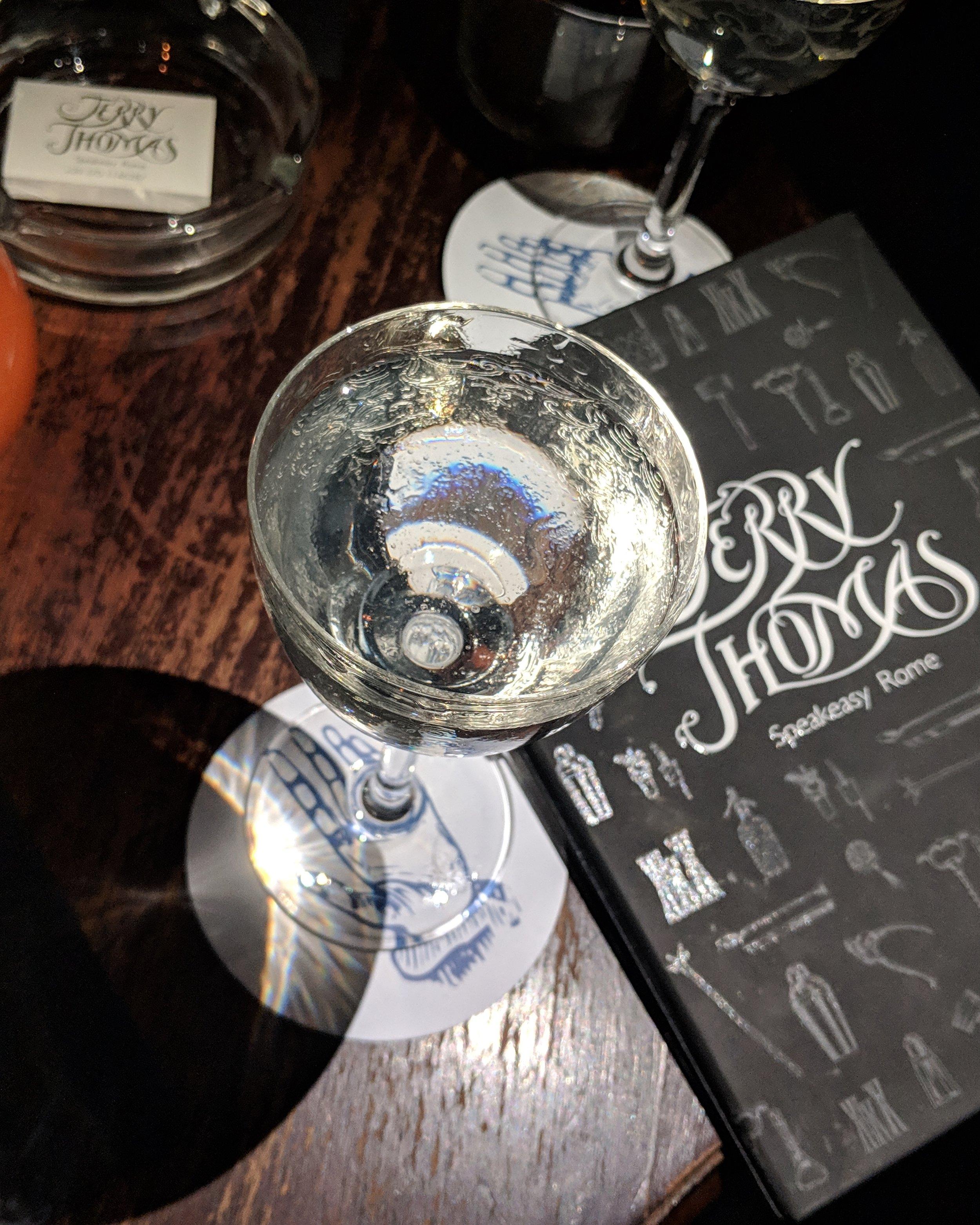 House Martini at Jerry Thomas