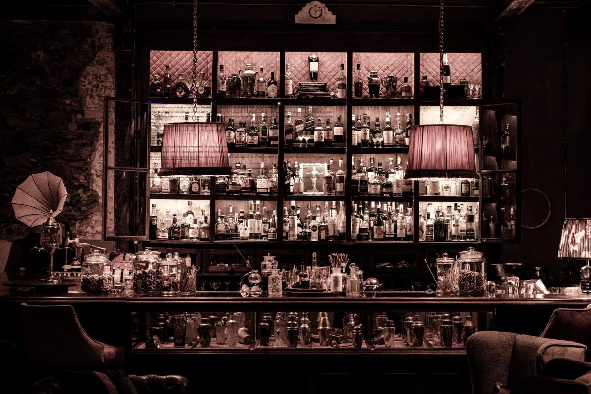 What a back bar! Photo  Benjamin Reisner
