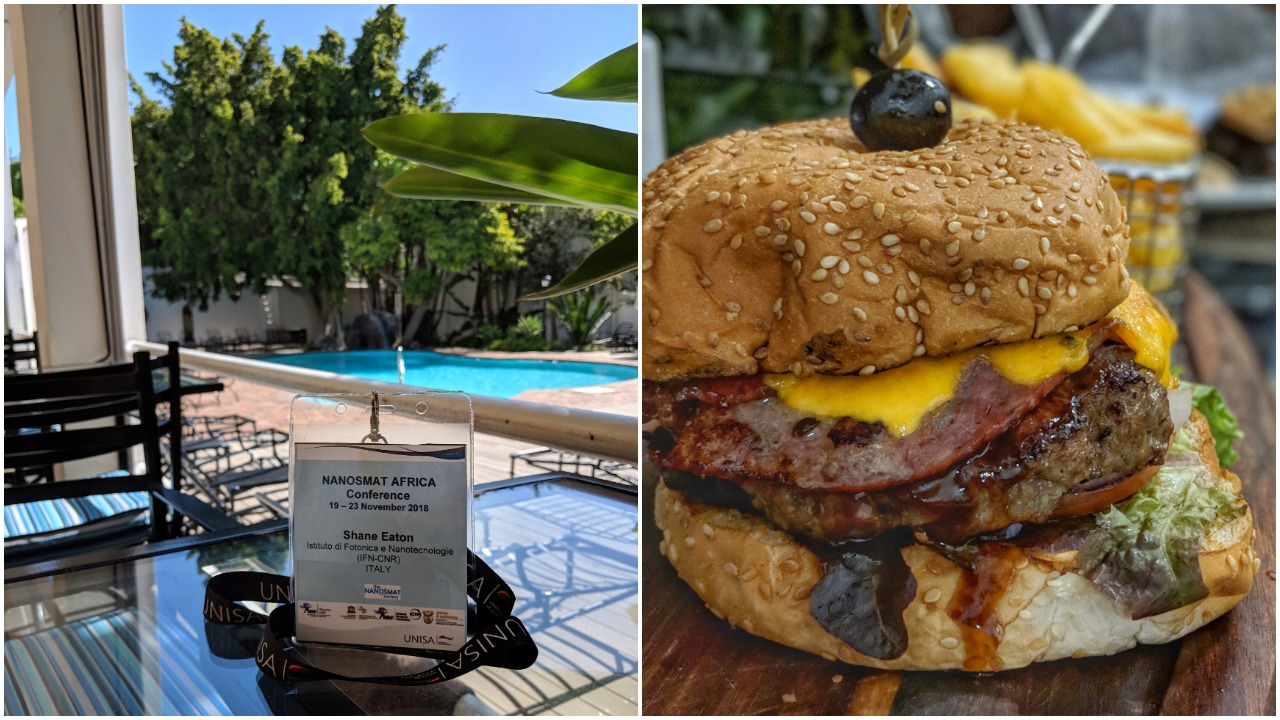 Relaxing poolside. Don't miss the outstanding food at Lord Charles