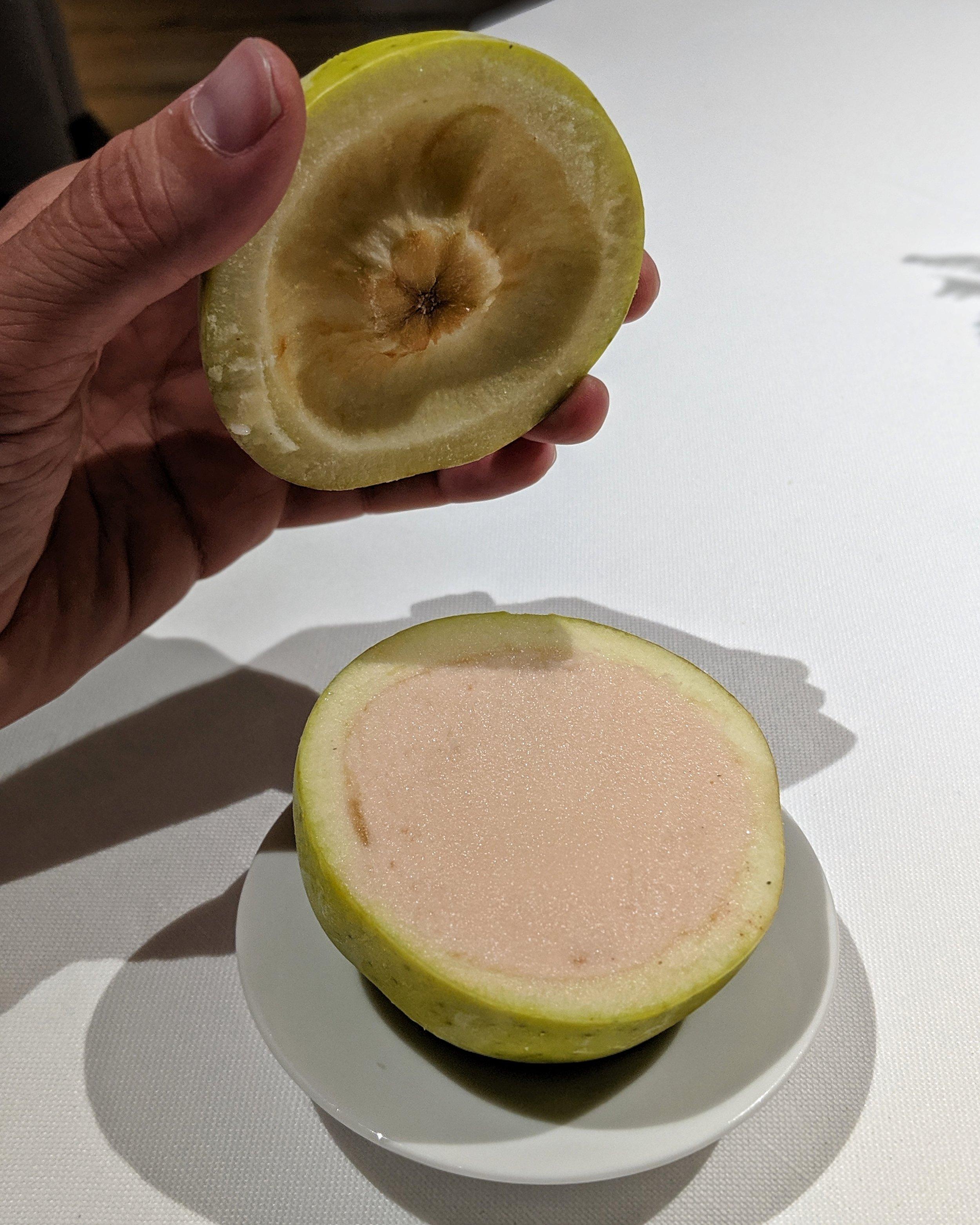 Sorbetto alla mela (picnic in Val Ferret parte 2)