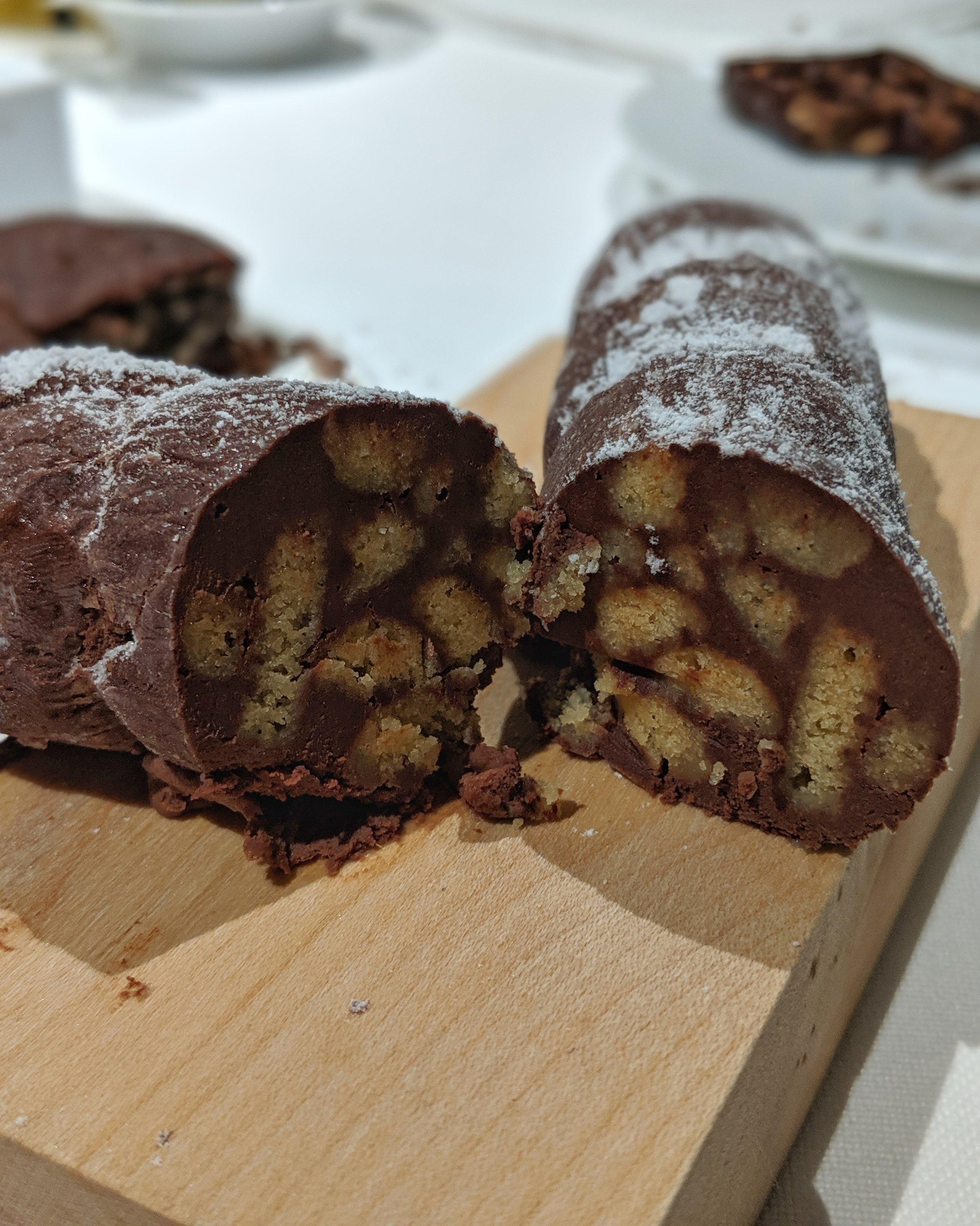 Salame al cioccolato e frutti di bosco (picnic in Val Ferret parte 2)