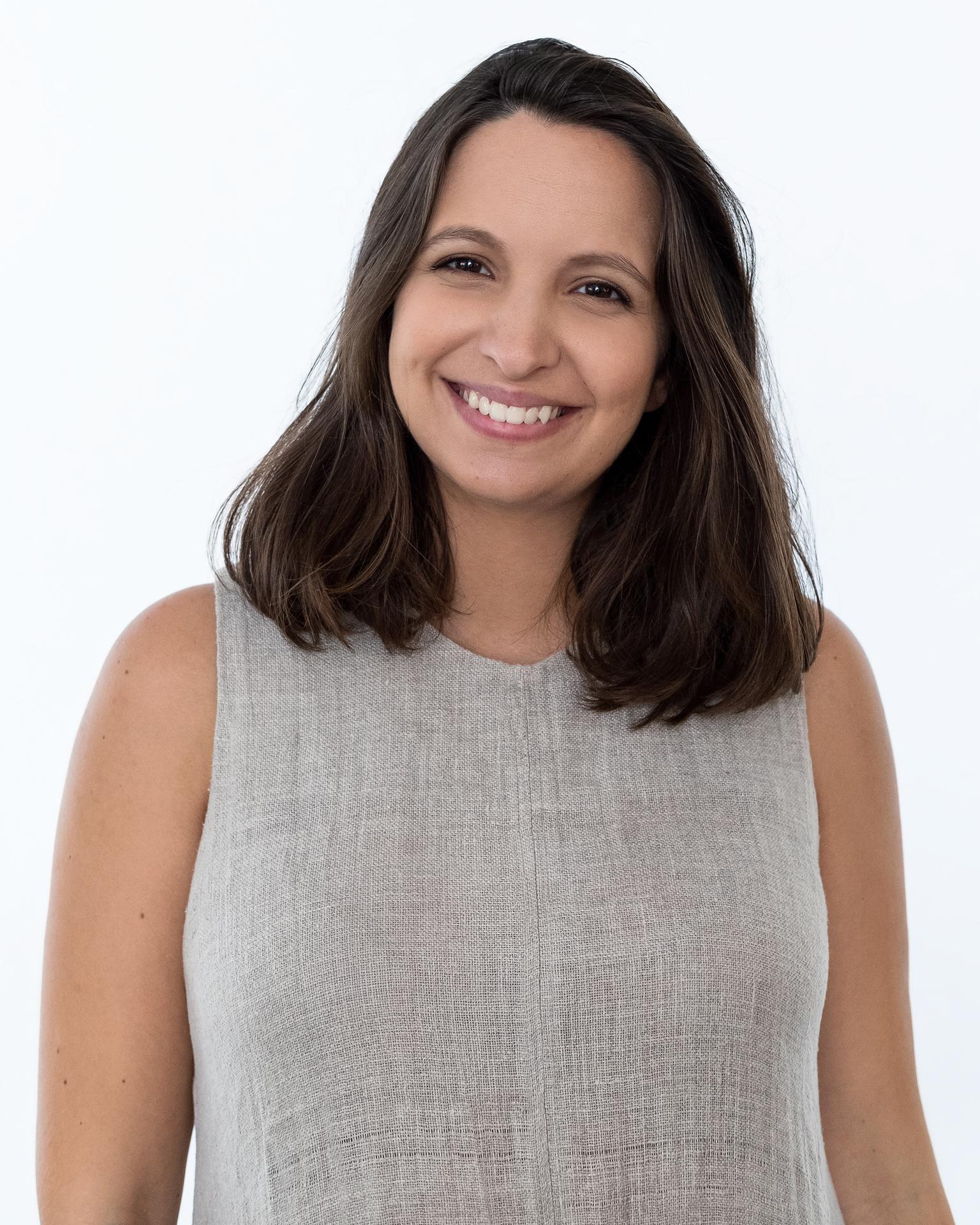 Catarina Ferreira Pinto, em estúdio, no dia da gravação deste episódio