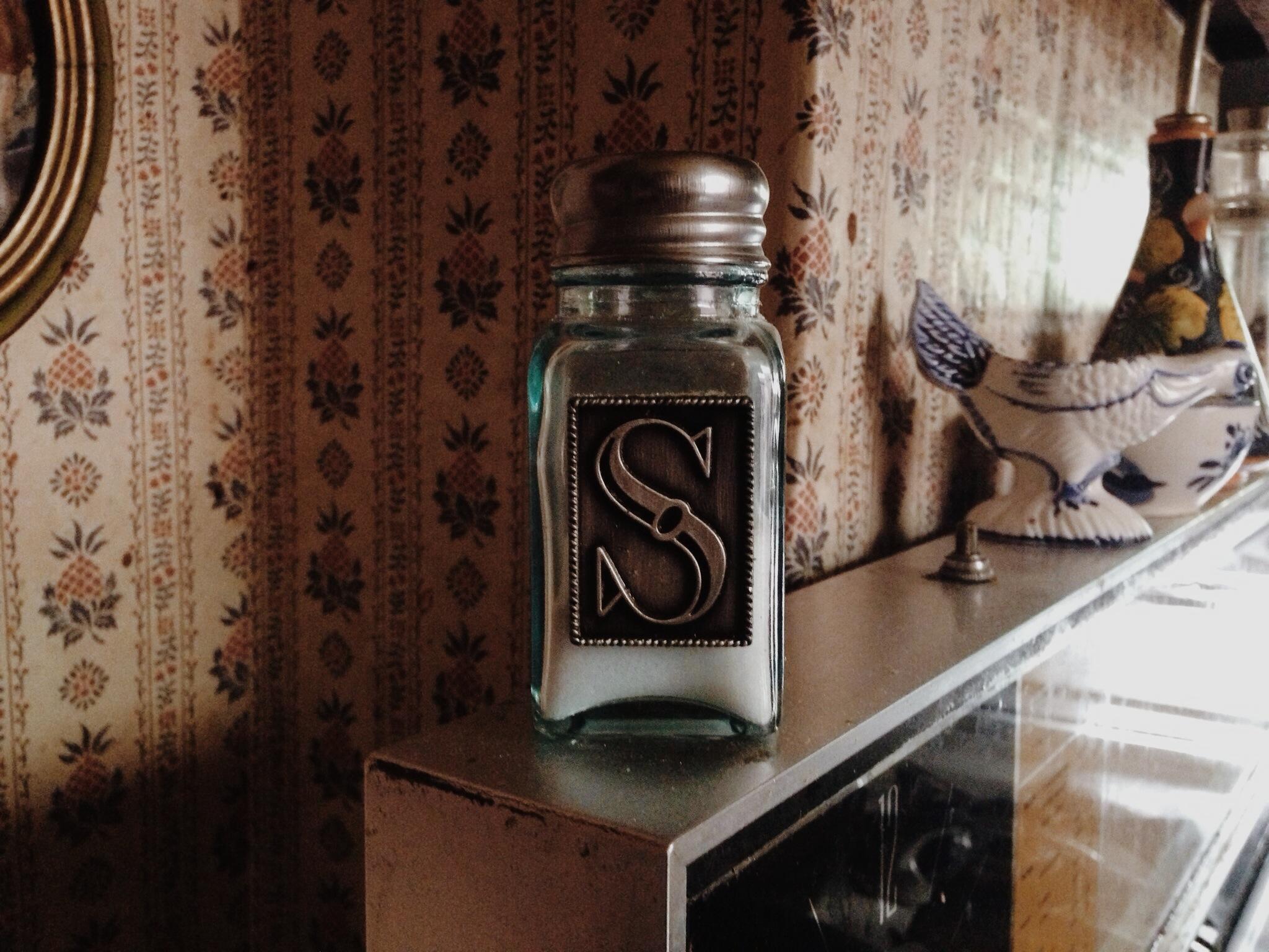 jimmy's salt shaker