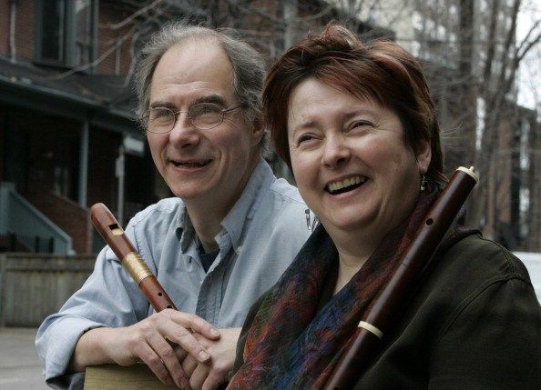 Colin Savage and Alison Melville