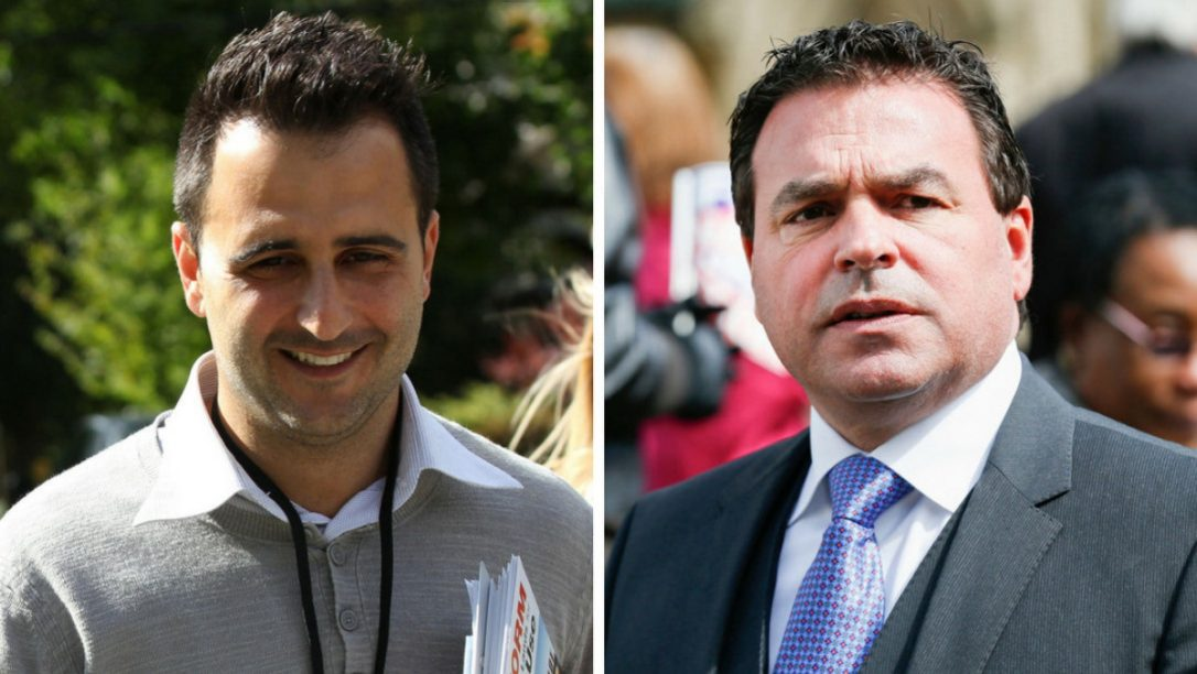 Both Councillor Justin Di Ciano (Ward 5, Etobicoke Lakeshore) and Councillor Giorgio Mammoliti (Ward 7, York West) have officially appealed a bylaw, that would redraw ward boundaries and bring the number of wards to 47 from 44, at the Ontario Municipal Board, the Star has learned.(TORONTO STAR FILE PHOTO)