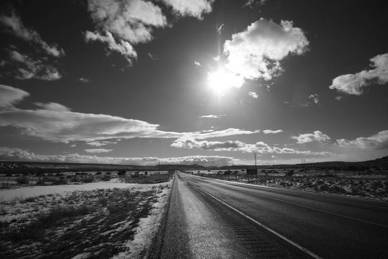Highway 30, near Española, NM (2012)