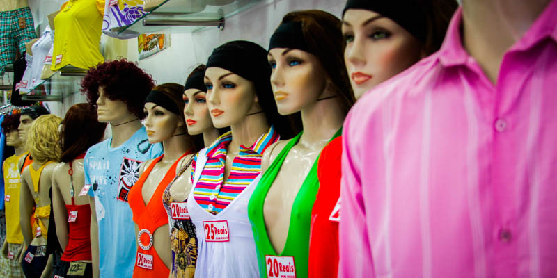 Mannequins in Salvador, Brazil, 2009