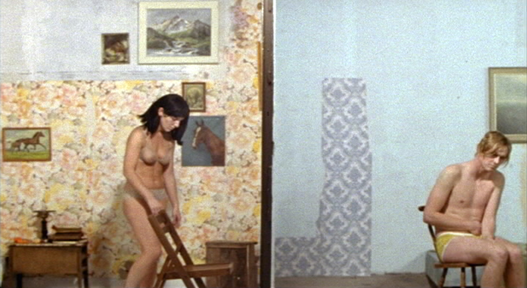 Still from  The Paper Wall  (Nick and Sheila Pye, 2004).