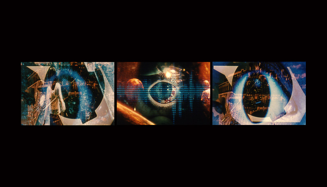 Image:  hollywood decollage (Richard Kerr, 2004, digital projection, 9 minutes)