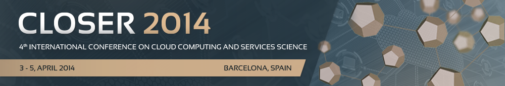An interesting Cloud conference in Barcelona. A perfect excuse to visit it during the best season!. Check out the other conferences that will be held in conjunction with CLOSER (CSEDU 2014, SMARTGREENS 2014 and WEBIST 2014).
