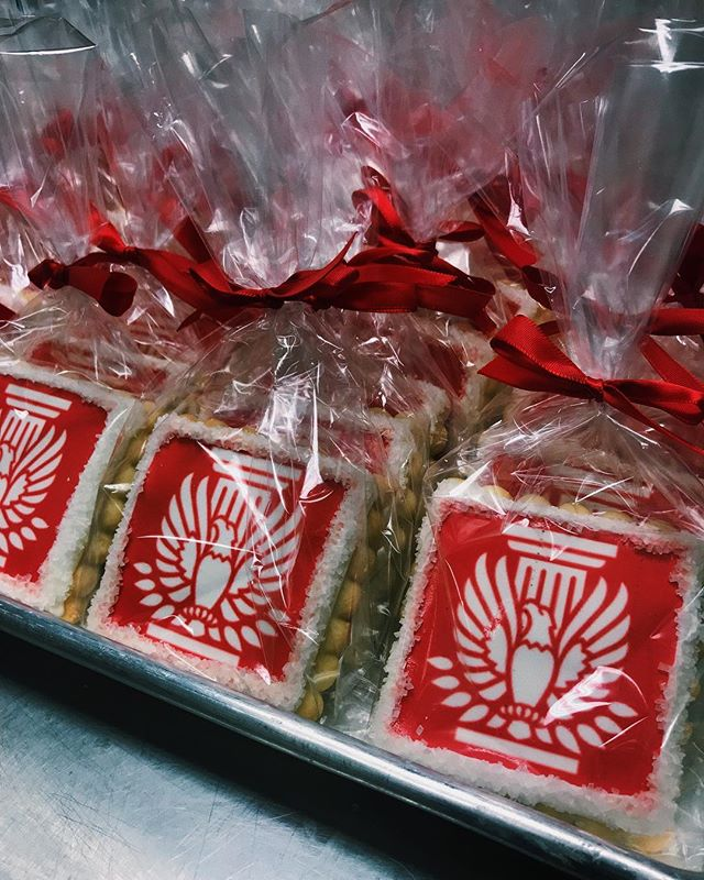 Big work event coming up? Contact us to get some of our delicious, personalized logo cookies!! 💻 Website: districtdesserts.com ✉️ Email: orders@districtdesserts.com