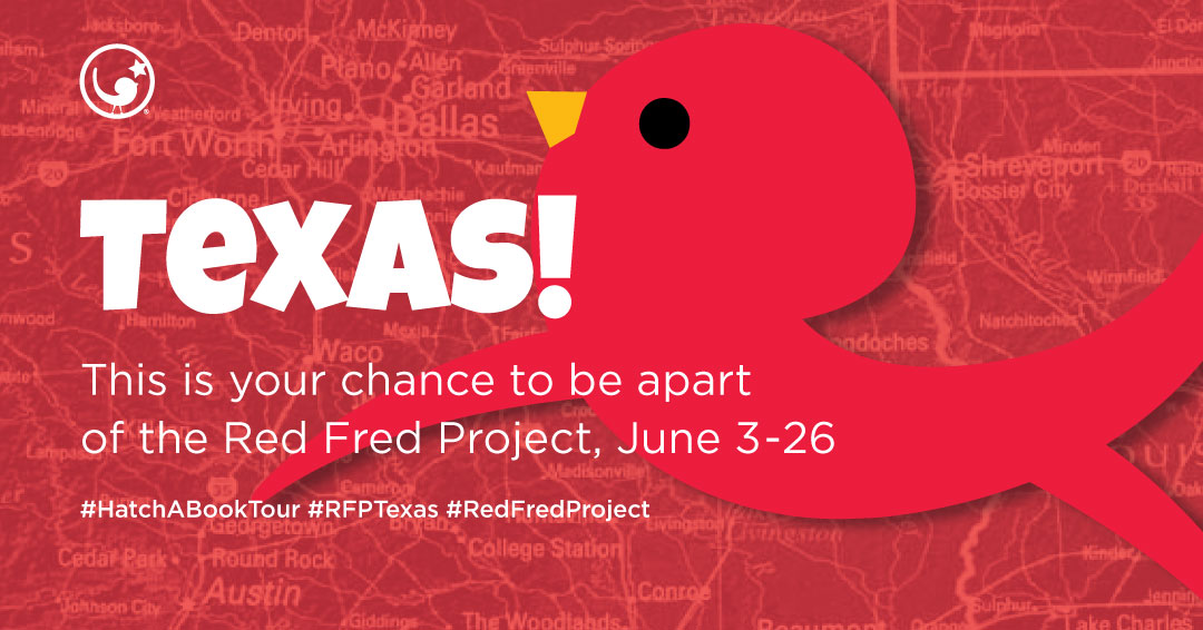 #RFPTexas - 3-26 June 2019—The Hatch-a-Book Tour continues as Dallas works with TX RFP Storyteller, Zuleyka Alvarado!